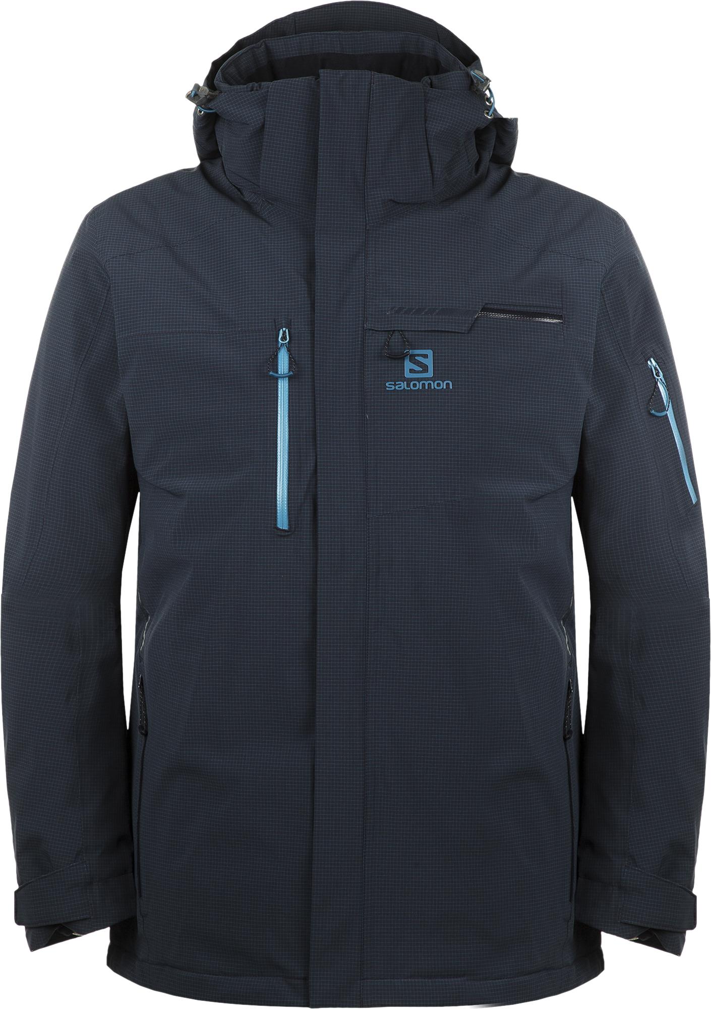 цена Salomon Куртка утепленная мужская Salomon Brilliant, размер 50-52 онлайн в 2017 году