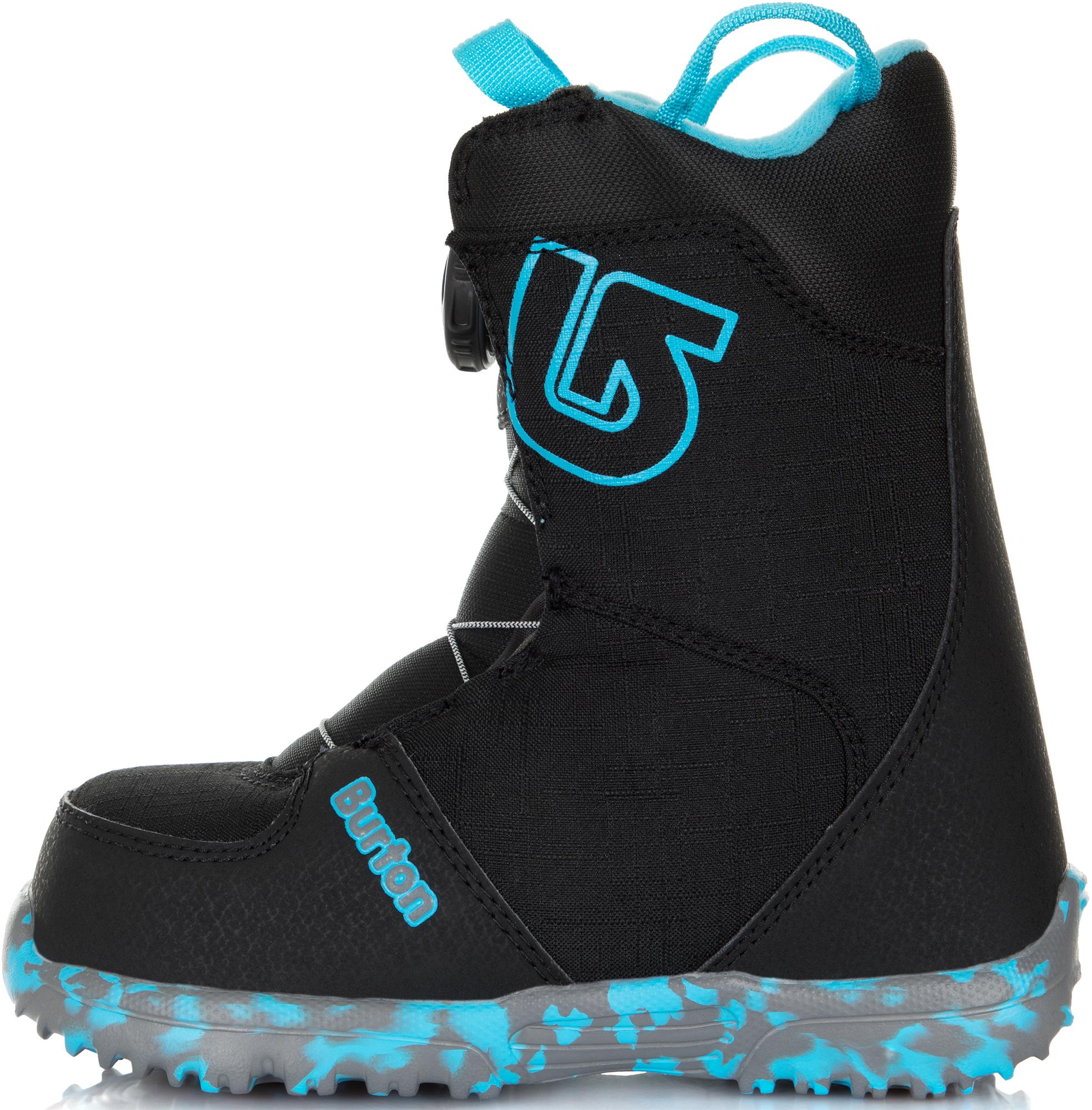 Burton Сноубордические ботинки детские Burton Grom Boa, размер 30,5 варежки сноубордические детские dc molan adventure time