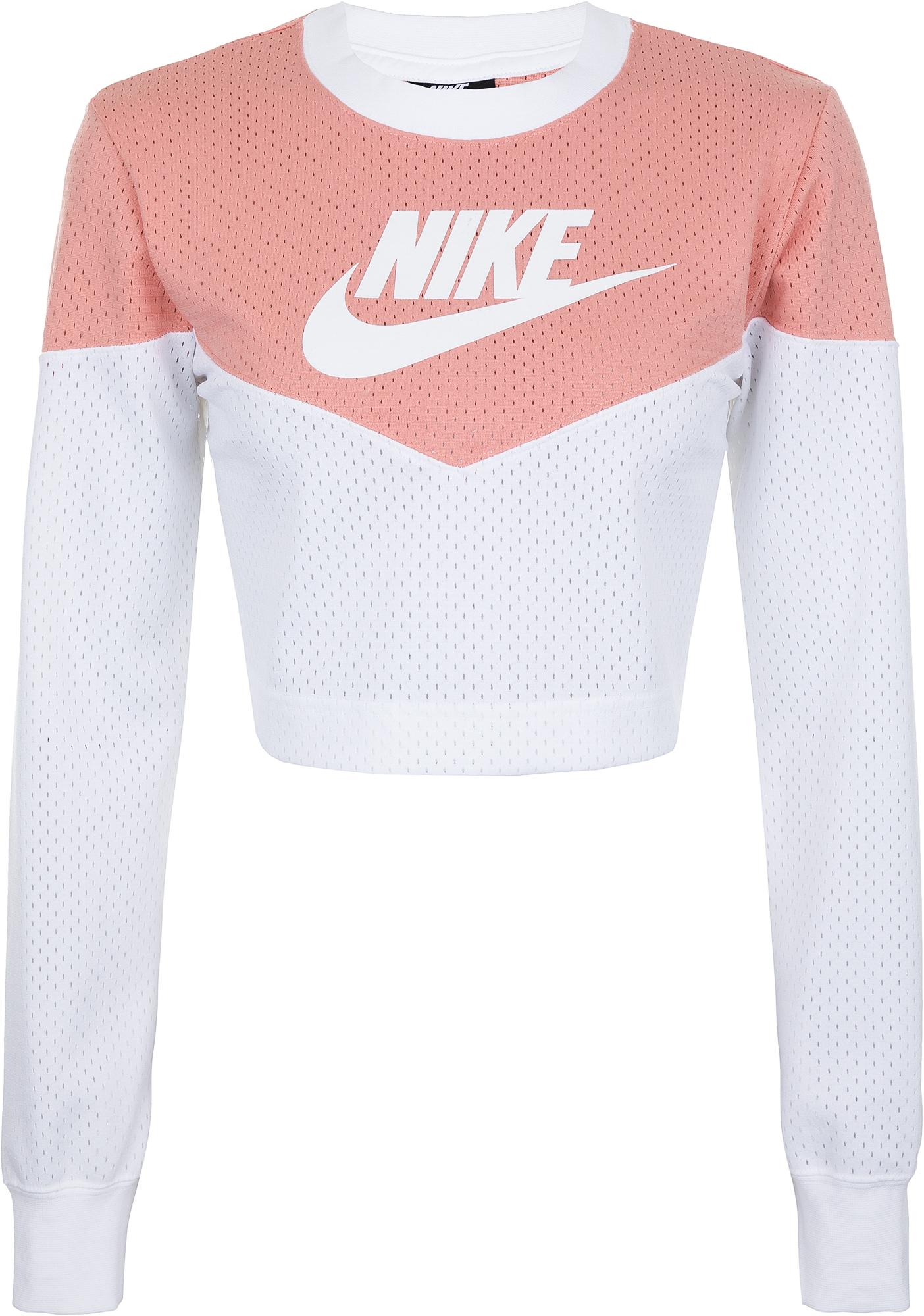 Nike Лонгслив женский Sportswear Heritage, размер 40-42
