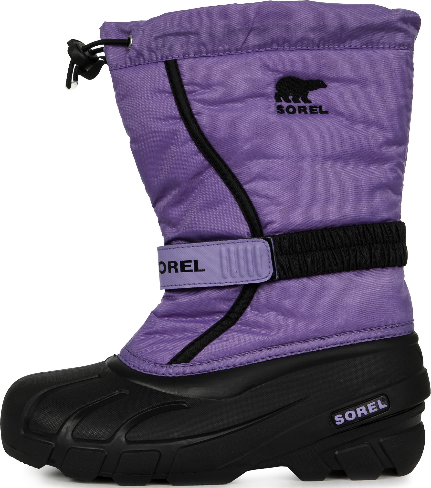 цена на Sorel Сапоги утепленные для девочек Sorel Youth Flurry, размер 37,5