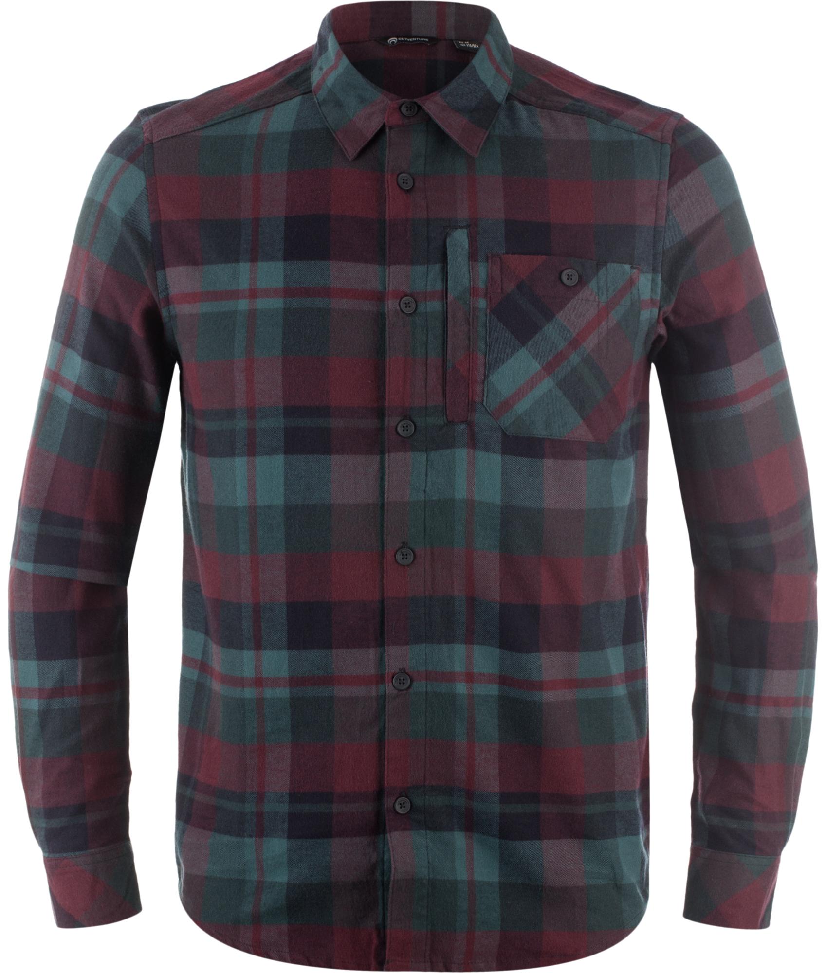 Outventure Рубашка с длинным рукавом мужская Outventure