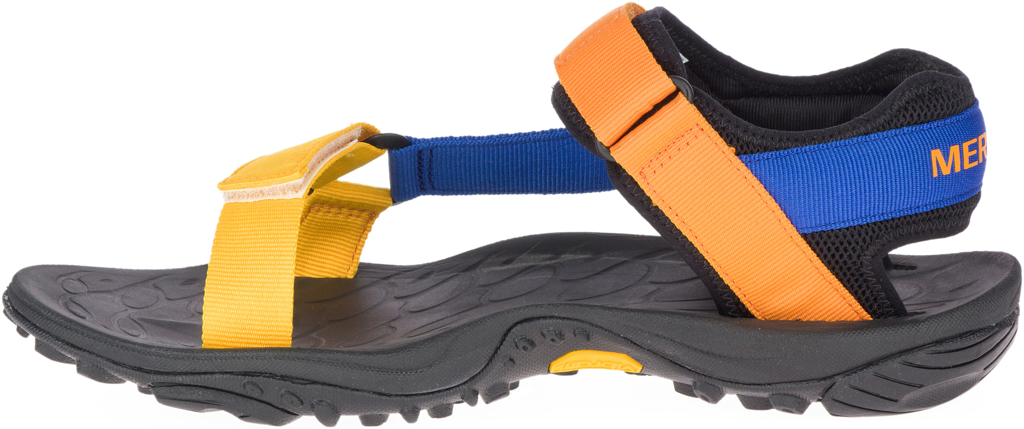 Merrell J000789-. 12 Сандалии мужские KAHUNA WEB голубой/оранжевый р. 12, размер 42 цена