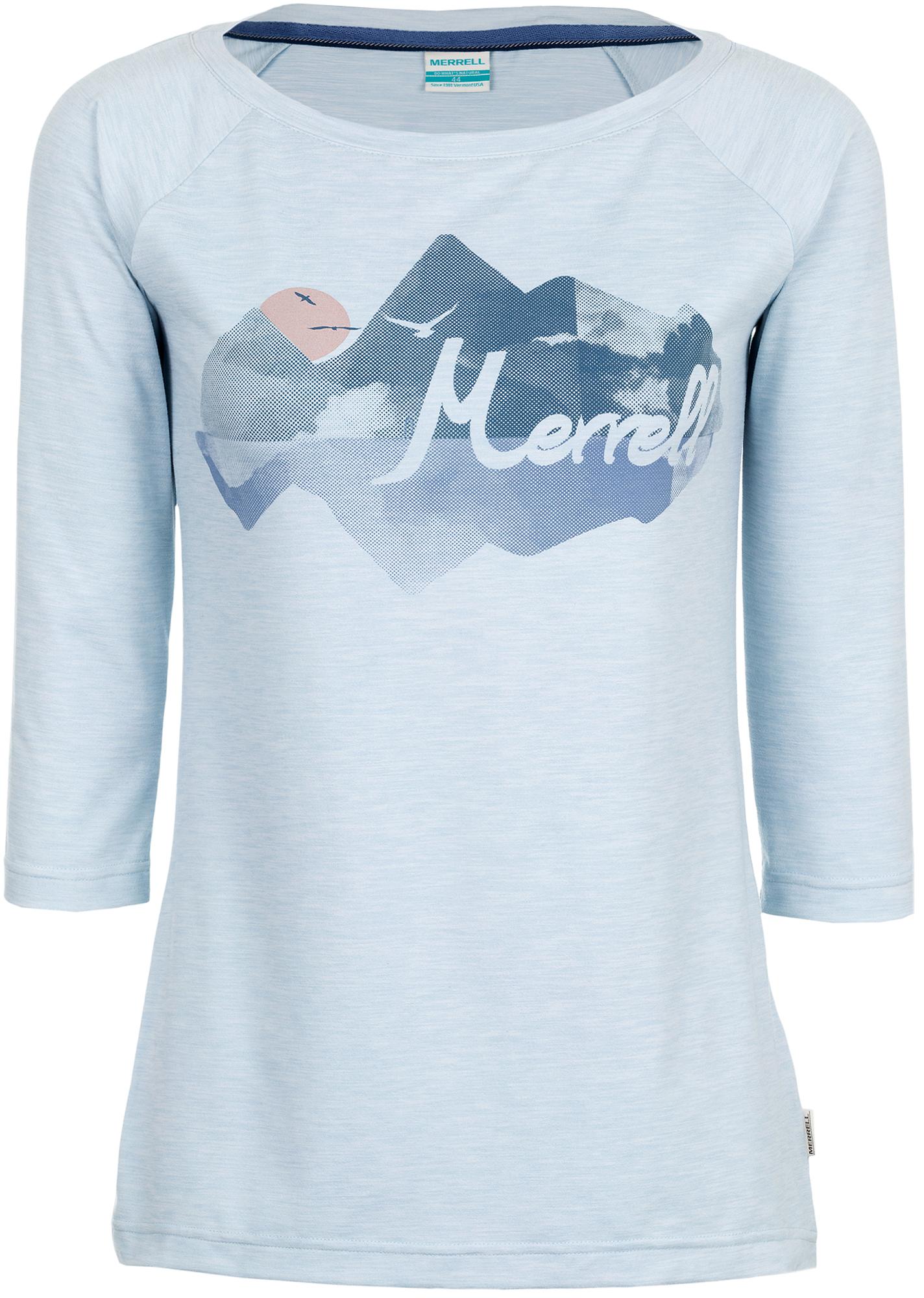 Merrell Футболка с длинным рукавом женская Merrell Iazyges футболка с длинным рукавом tommy hilfiger футболка с длинным рукавом