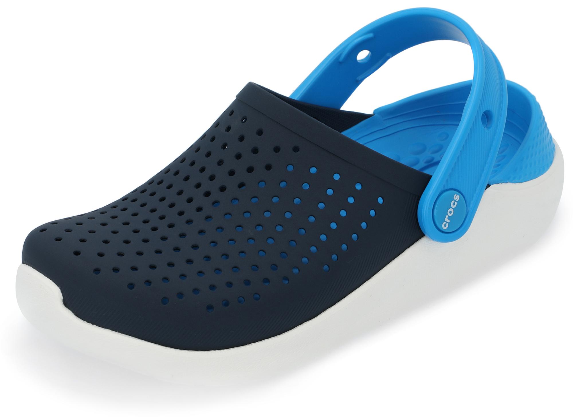 цена на Crocs Шлепанцы для мальчиков Crocs Literide Clog K, размер 33-34