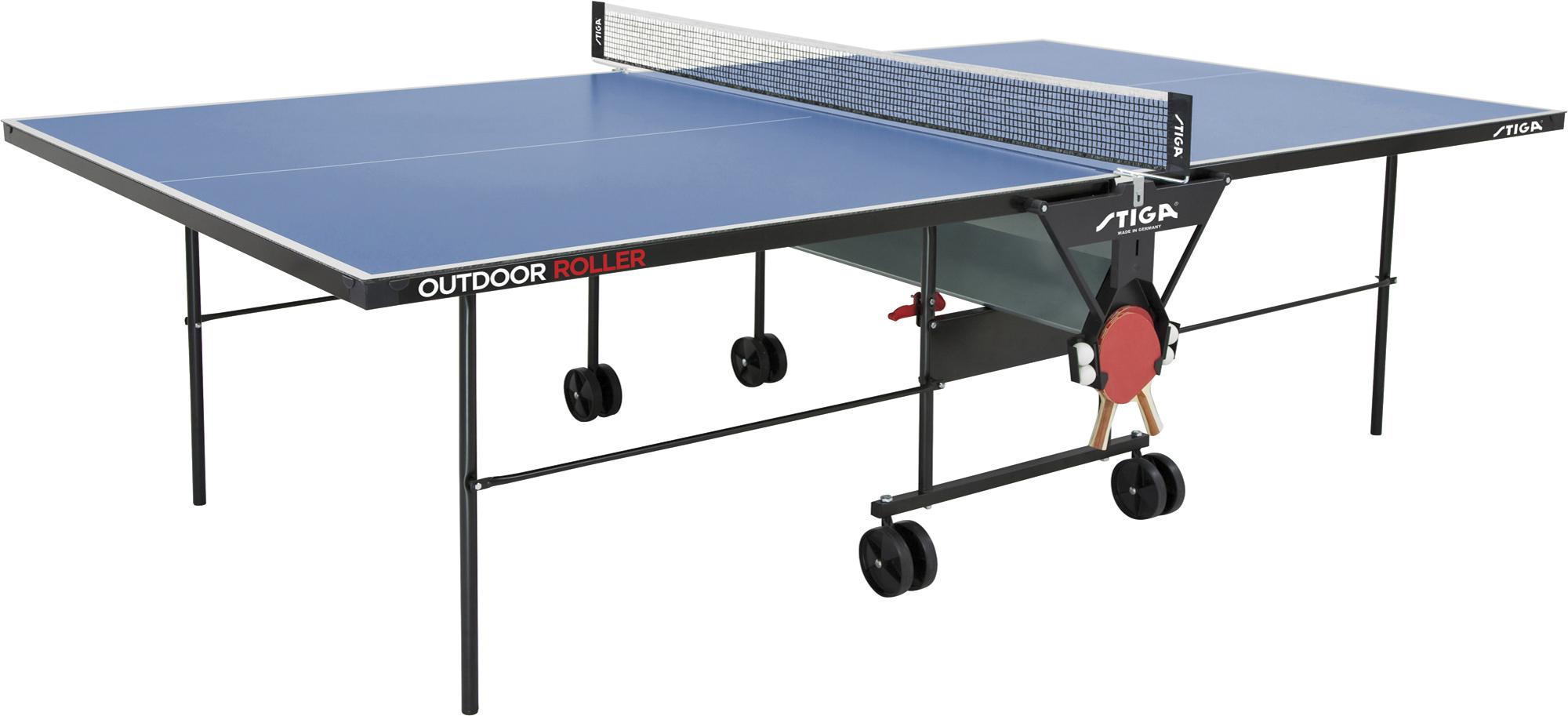 Stiga Теннисный стол всепогодный Outdoor Roller