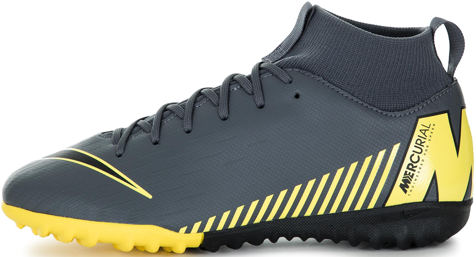 Nike Бутсы для мальчиков Nike Mercurial Superfly 6 Academy GS TF, размер 35,5 цена