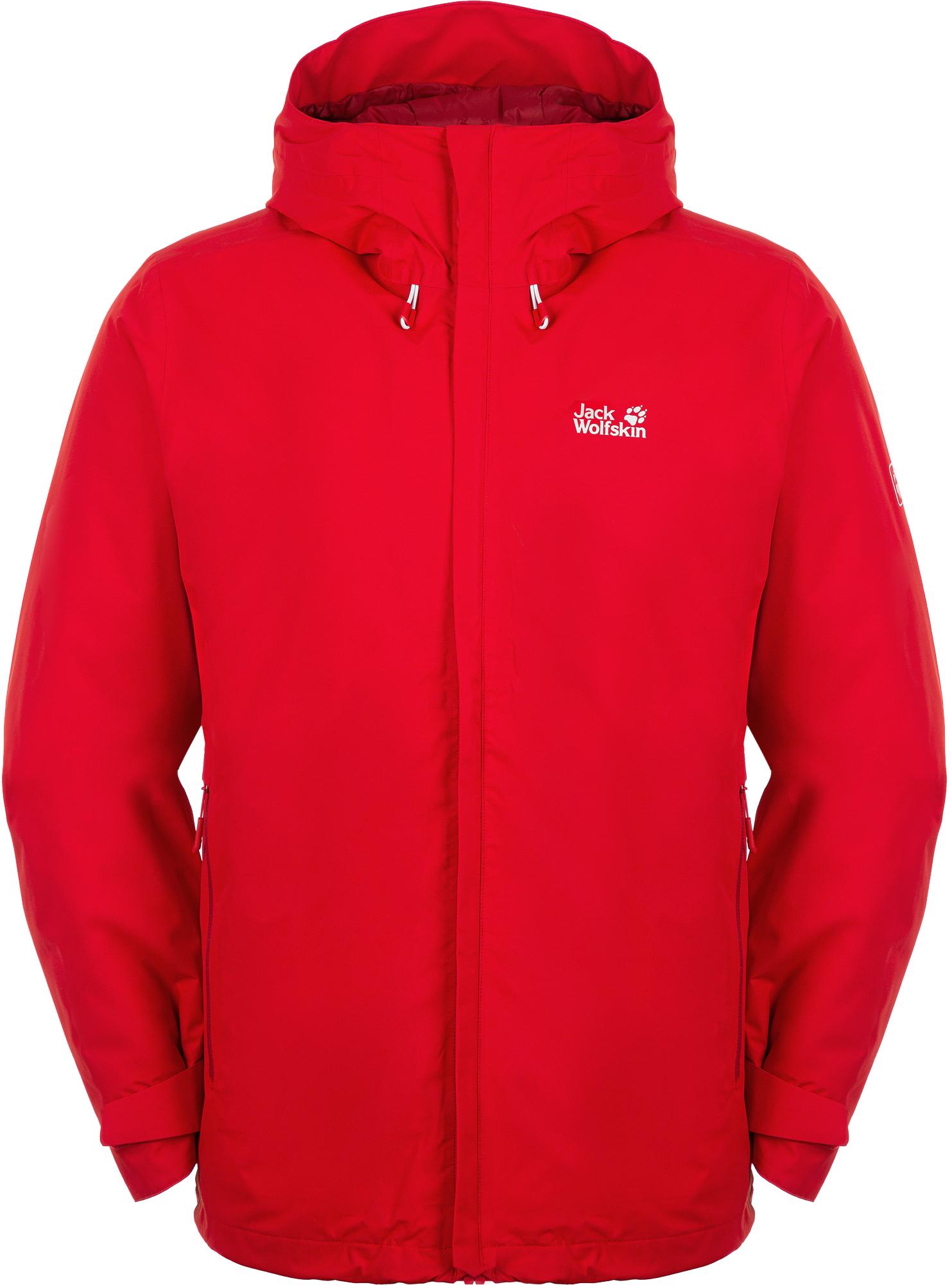 JACK WOLFSKIN Куртка утепленная мужская Jack Wolfskin Argon Storm, размер 50-52