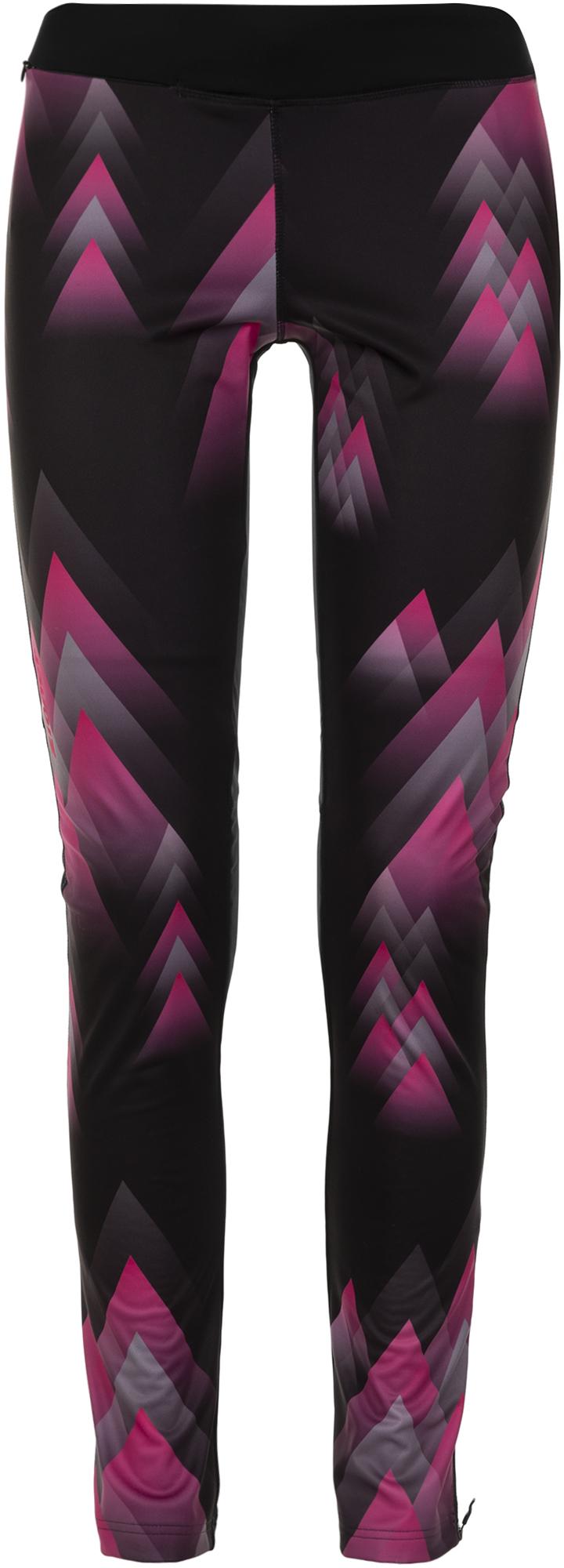 Ziener Брюки женские Ziener Nura, размер 42 брюки женские sela цвет темно серый меланж p 115 874 8310 размер 42