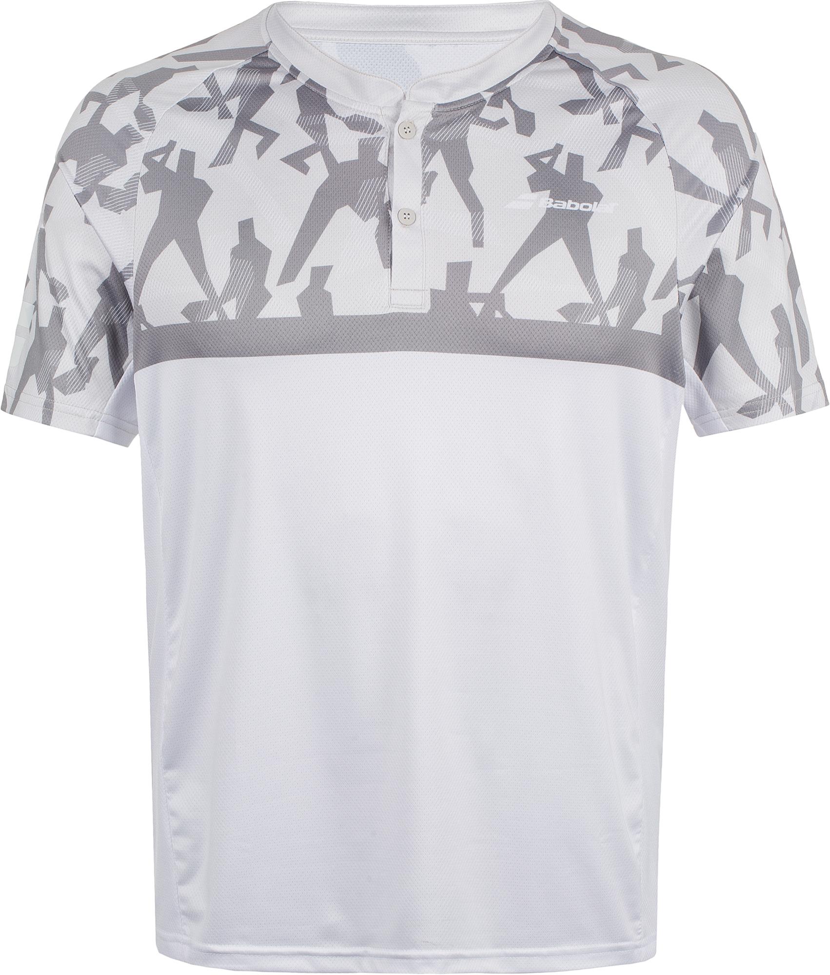 Babolat Поло мужское Babolat Complete, размер 50 babolat футболка женская babolat complete cap размер 42 44