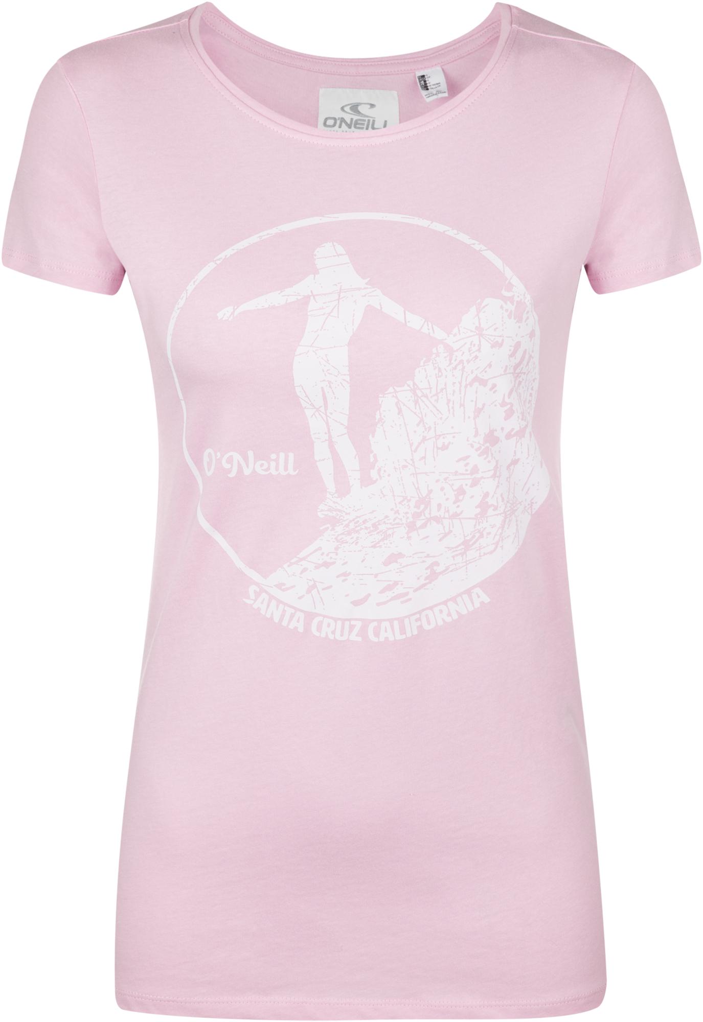 цены O'Neill Футболка женская O'Neill Santa Cruz, размер 42-44