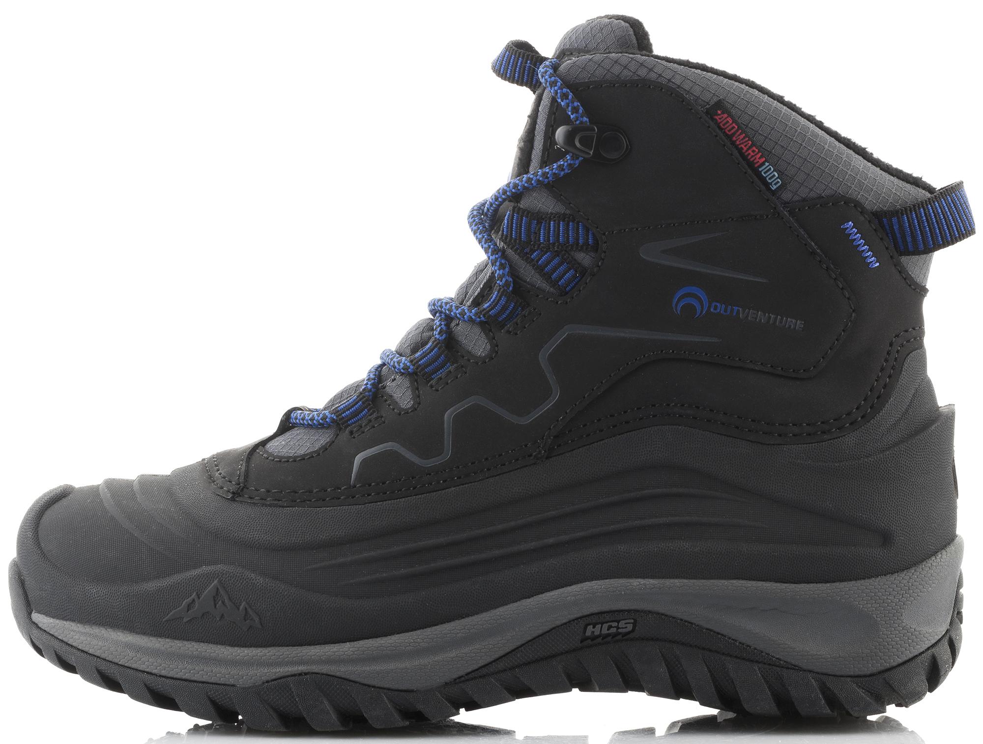 Outventure Ботинки утепленные для мальчиков Outventure Frostwater outventure ботинки для мальчиков outventure track mid