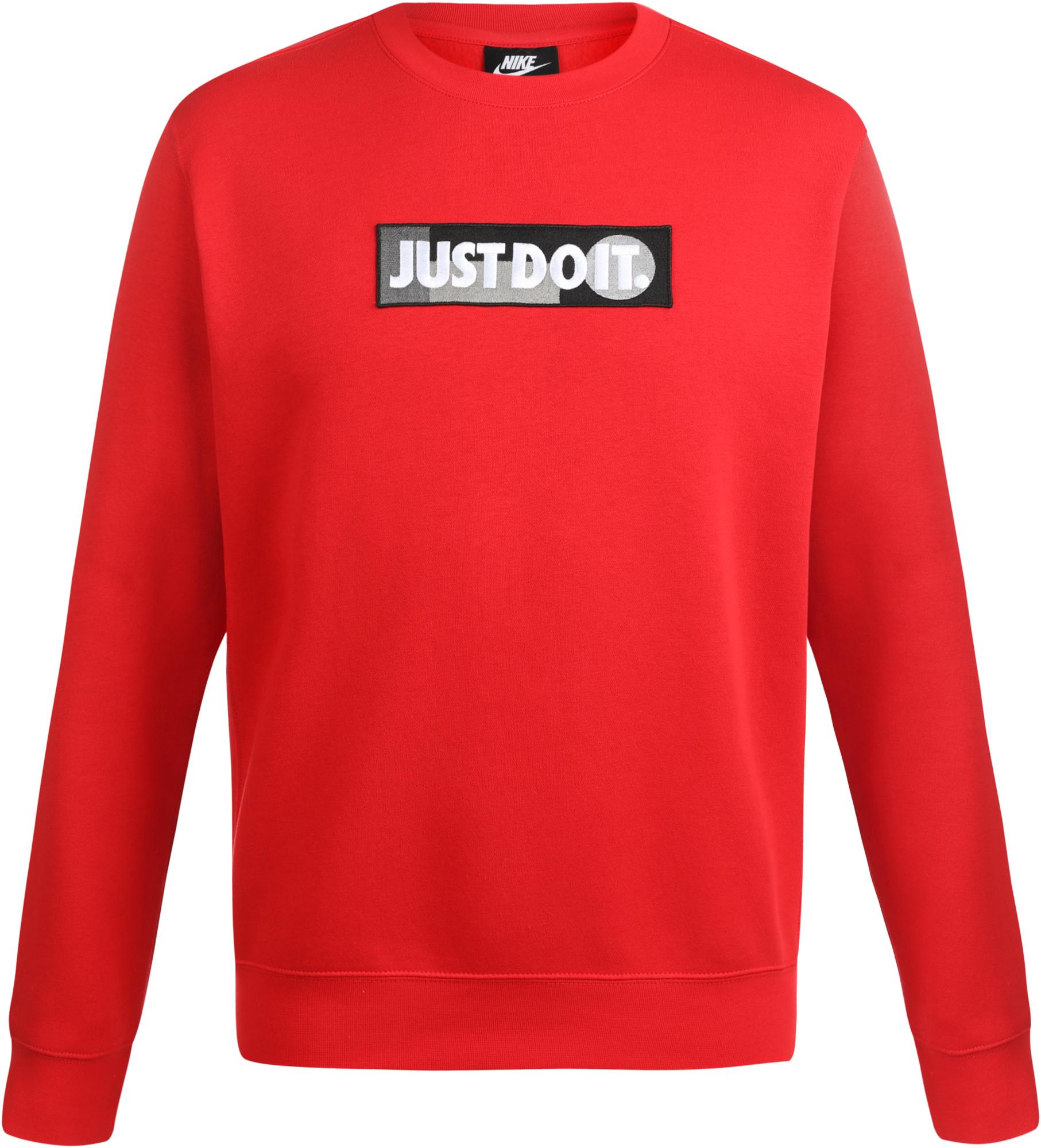 Фото - Nike Свитшот мужской Nike Sportswear Just Do It, размер 52-54 nike свитшот мужской nike sportswear just do it размер 52 54