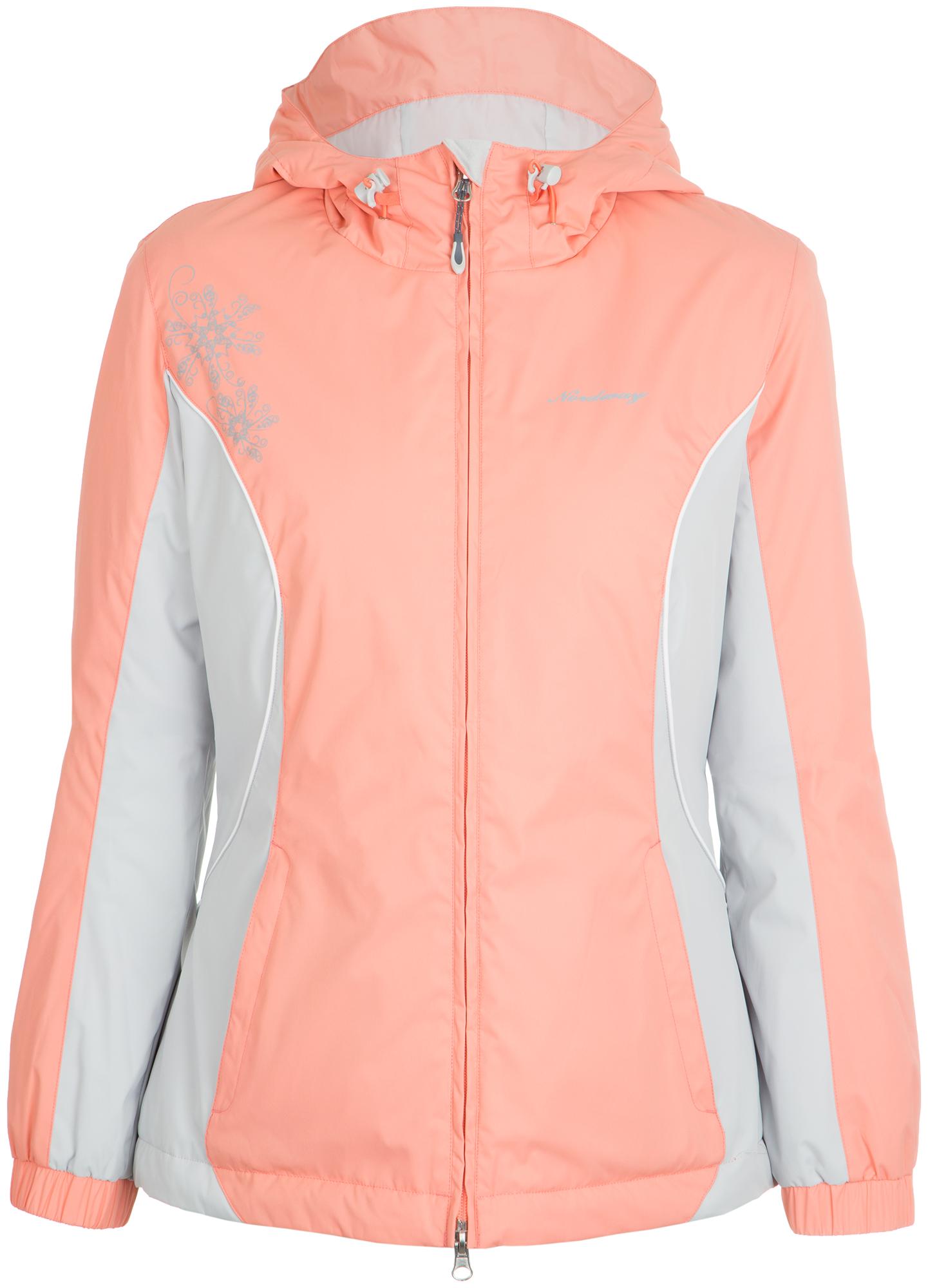 Nordway Куртка утепленная женская Nordway, размер 48 prada утепленная куртка на молнии