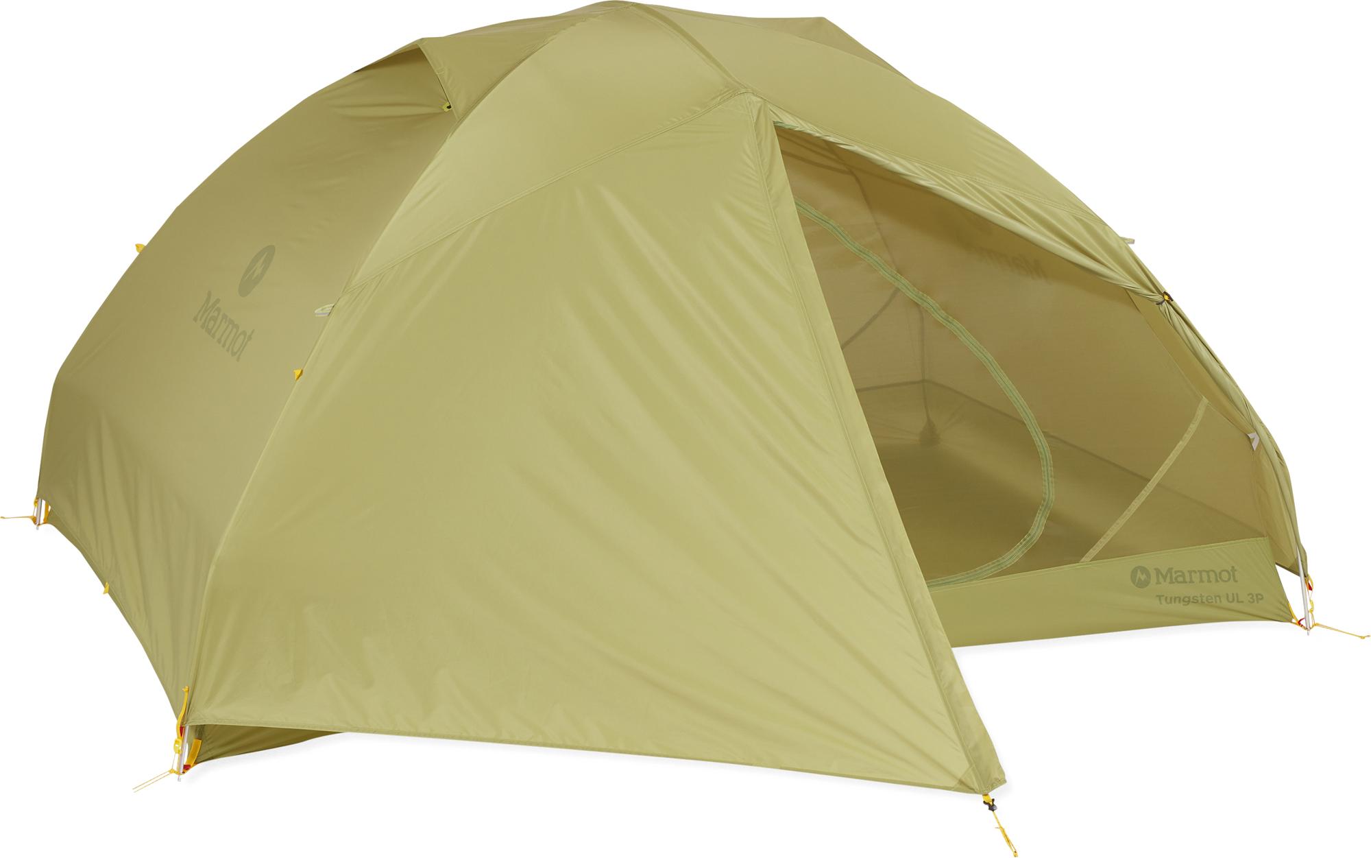 Фото - Marmot Палатка 3-местная Marmot Tungsten UL 3P палатка greenhouse fct 32 трехместная