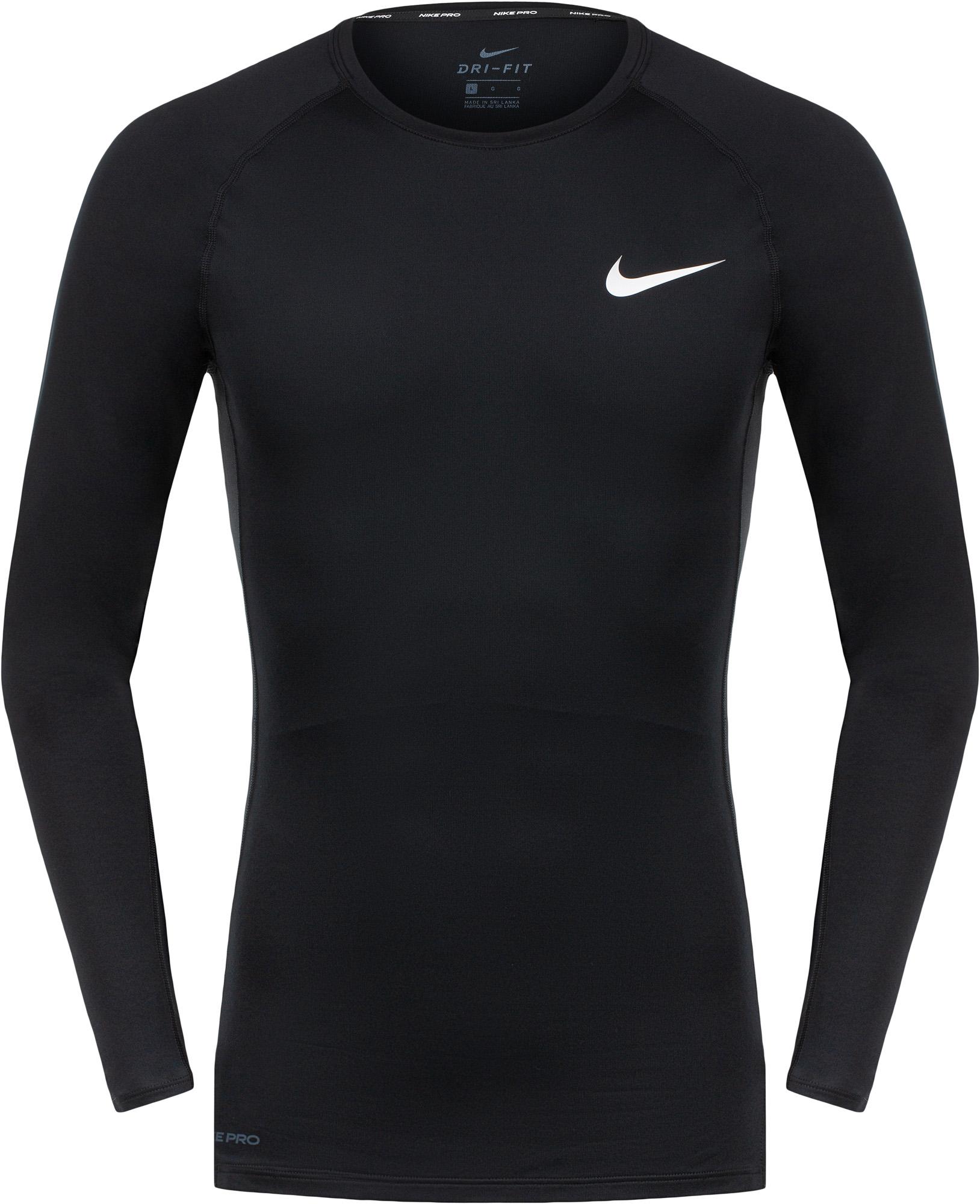 Nike Лонгслив мужской Nike Pro, размер 44-46 лонгслив nike nike ni464emhucx8