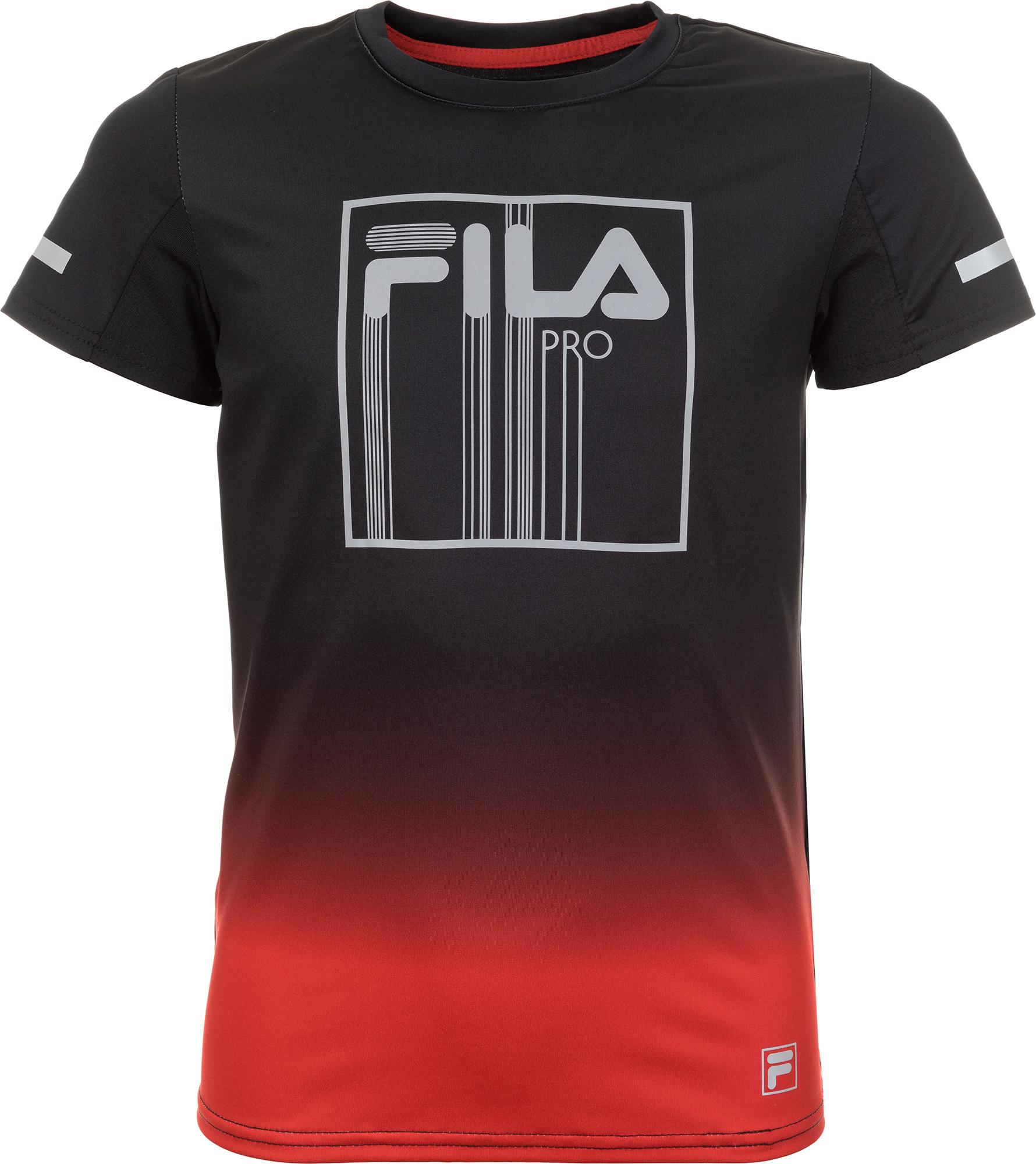 Fila Футболка для мальчиков Fila, размер 152 acoola сорочка верхняя детская для мальчиков синяя цвет синий размер 152 21110280002