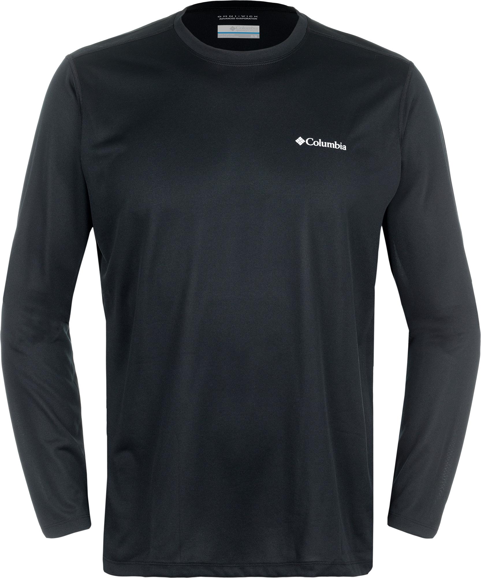 Columbia Футболка с длинным рукавом мужская Columbia Tech Trek columbia рубашка с длинным рукавом мужская columbia boulder ridge