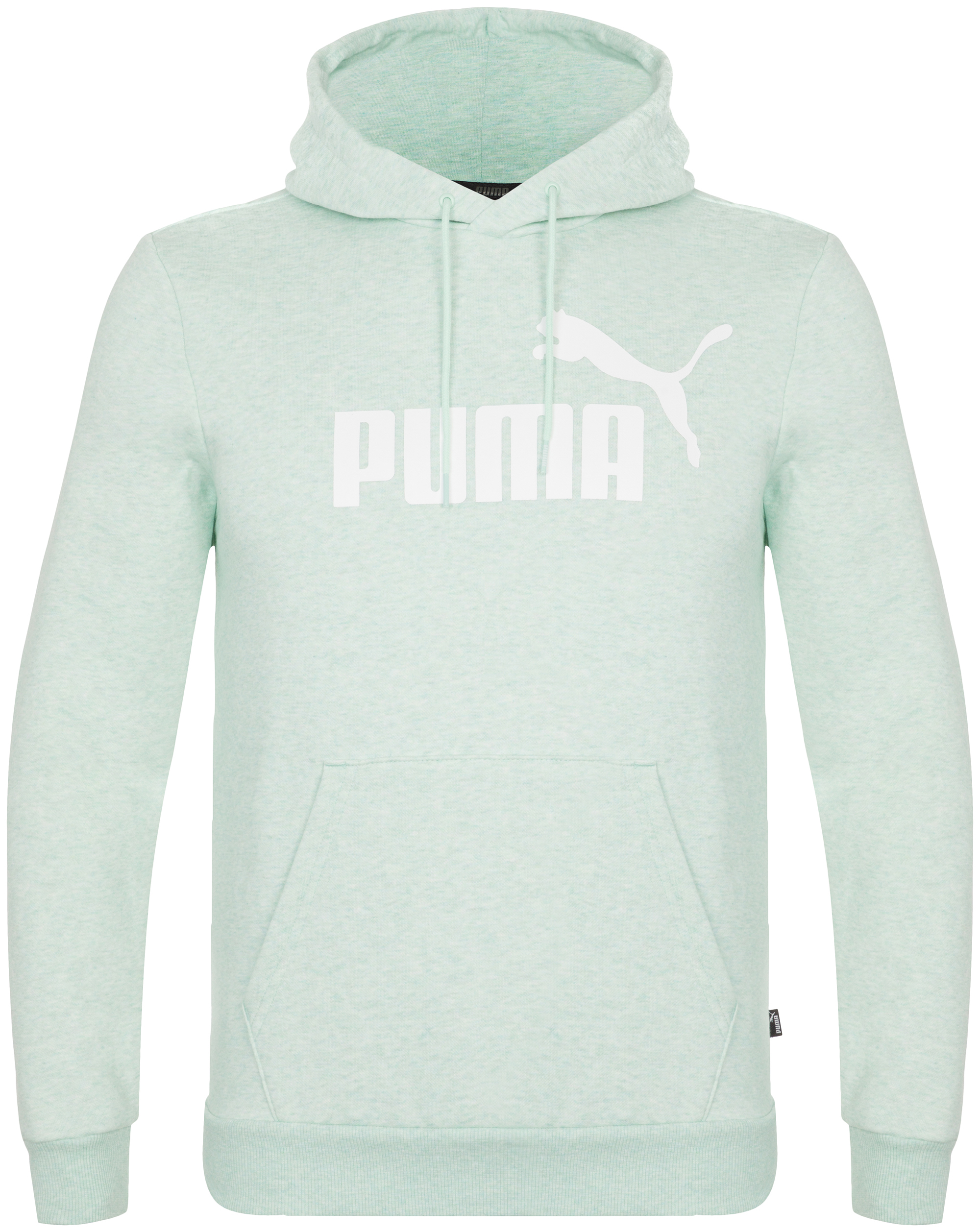 худи женское adidas ess 3s fz hd цвет серый розовый br2438 размер s 42 44 Puma Худи мужская Puma ESS+ Hoody FL, размер 44-46