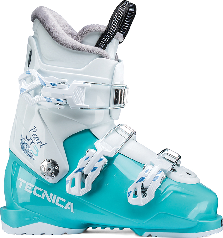 Tecnica Ботинки горнолыжные для девочек Tecnica JT 3 Pearl, размер 24,5 см