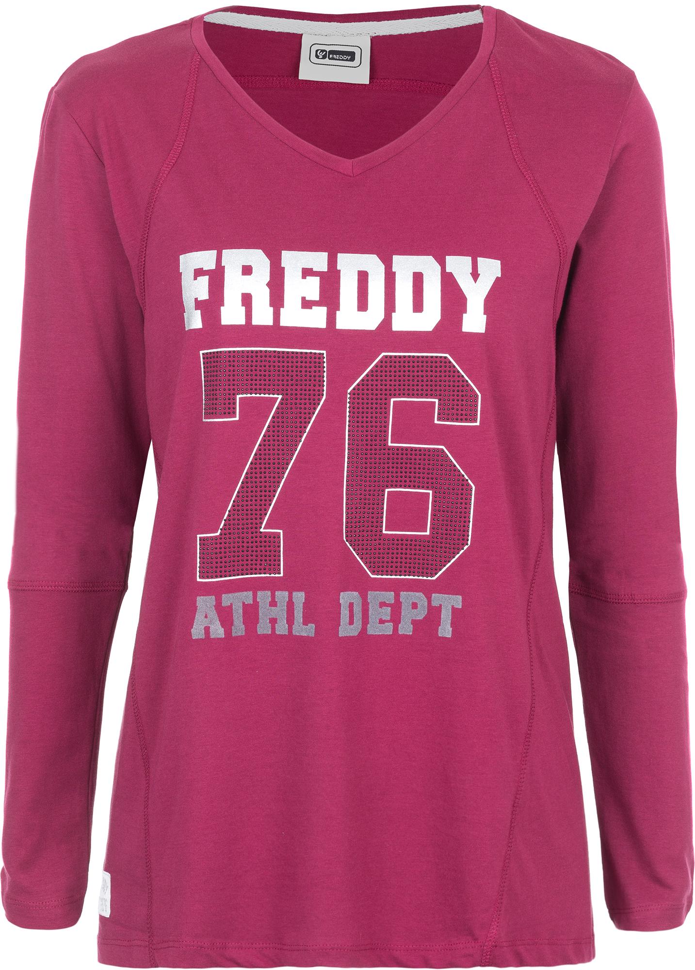 Freddy Футболка с длинным рукавом женская Freddy футболка с длинным рукавом tommy hilfiger футболка с длинным рукавом