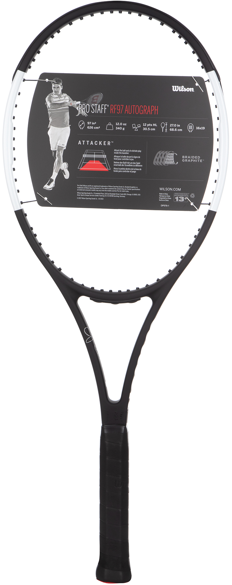 Wilson Ракетка для большого тенниса Pro Staff RF97 Auto