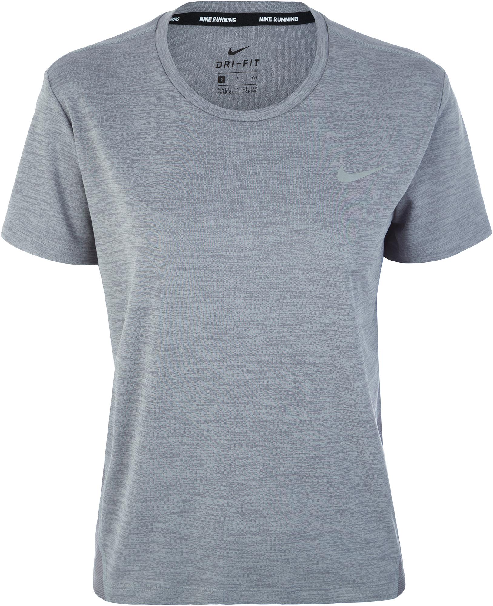 Nike Футболка женская Nike Miler, размер 48-50 цена