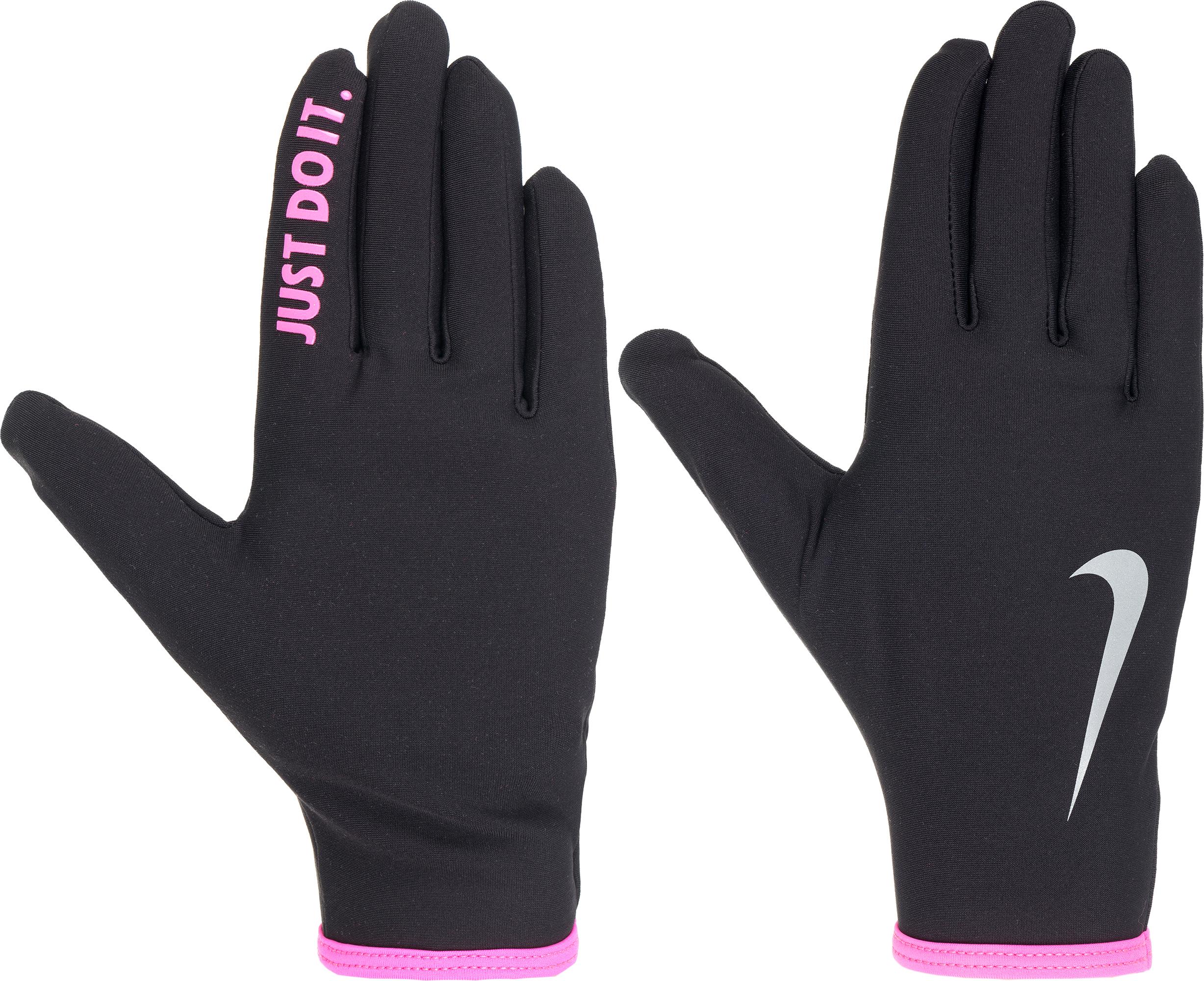 Nike Перчатки женские Nike, размер S nike перчатки для бега nike n rg 31 046 черный