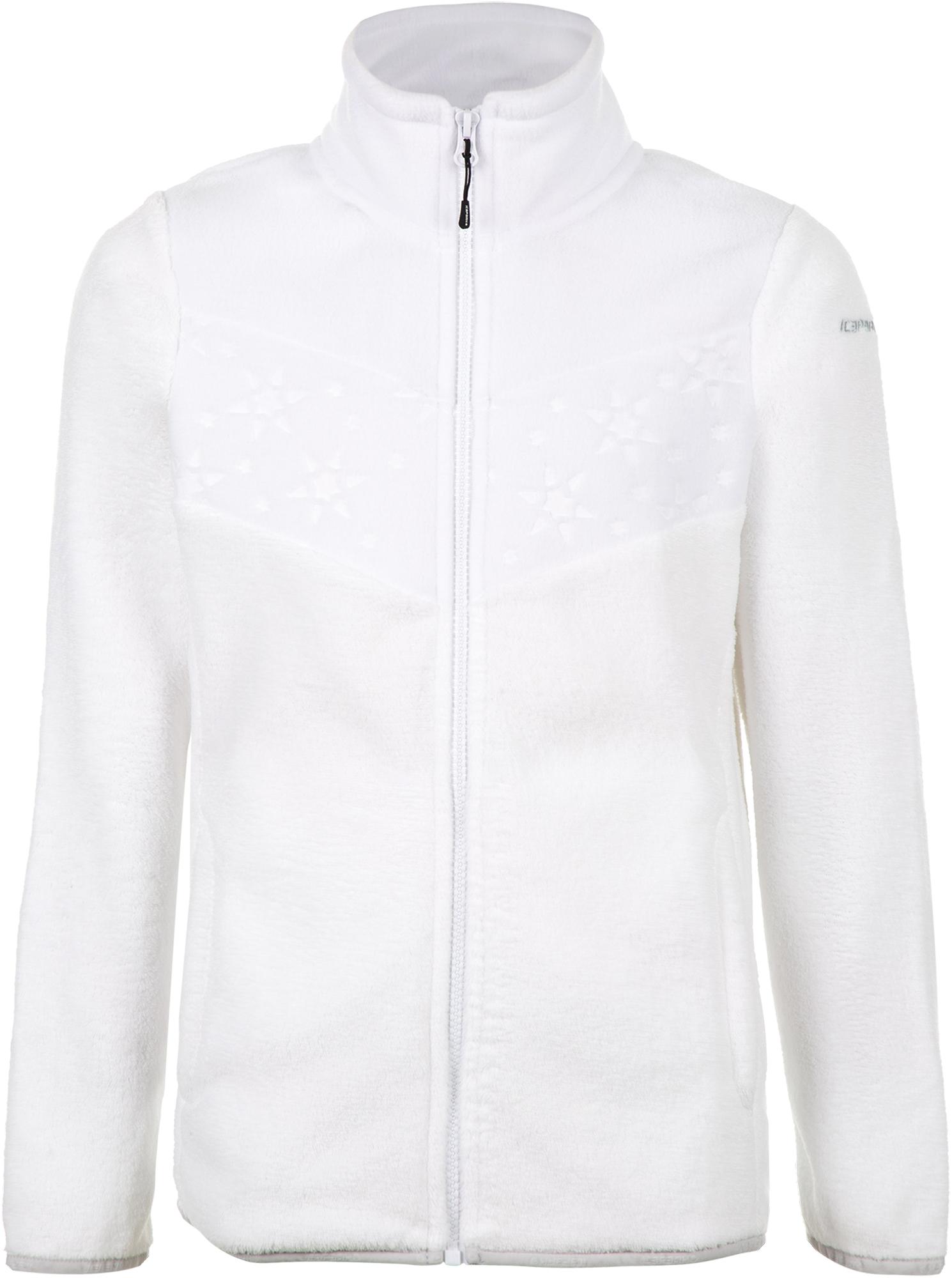 IcePeak Джемпер флисовый для девочек IcePeak Limon, размер 164 костюм куртка брюки для девочек icepeak 452002654iv цвет фиолетовый р 164 100%полиэстер 740