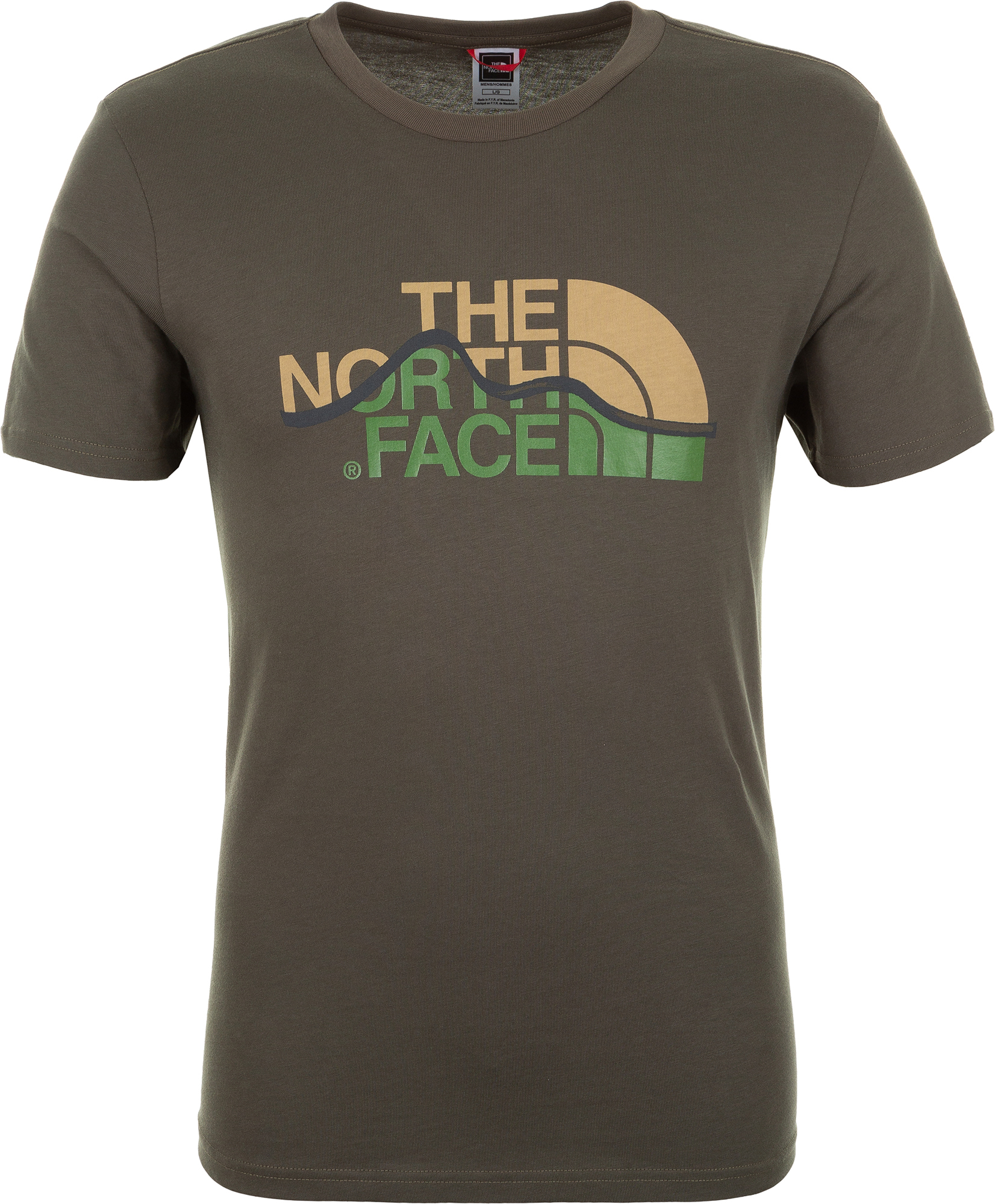 The North Face Футболка мужская Mountain Line, размер 52