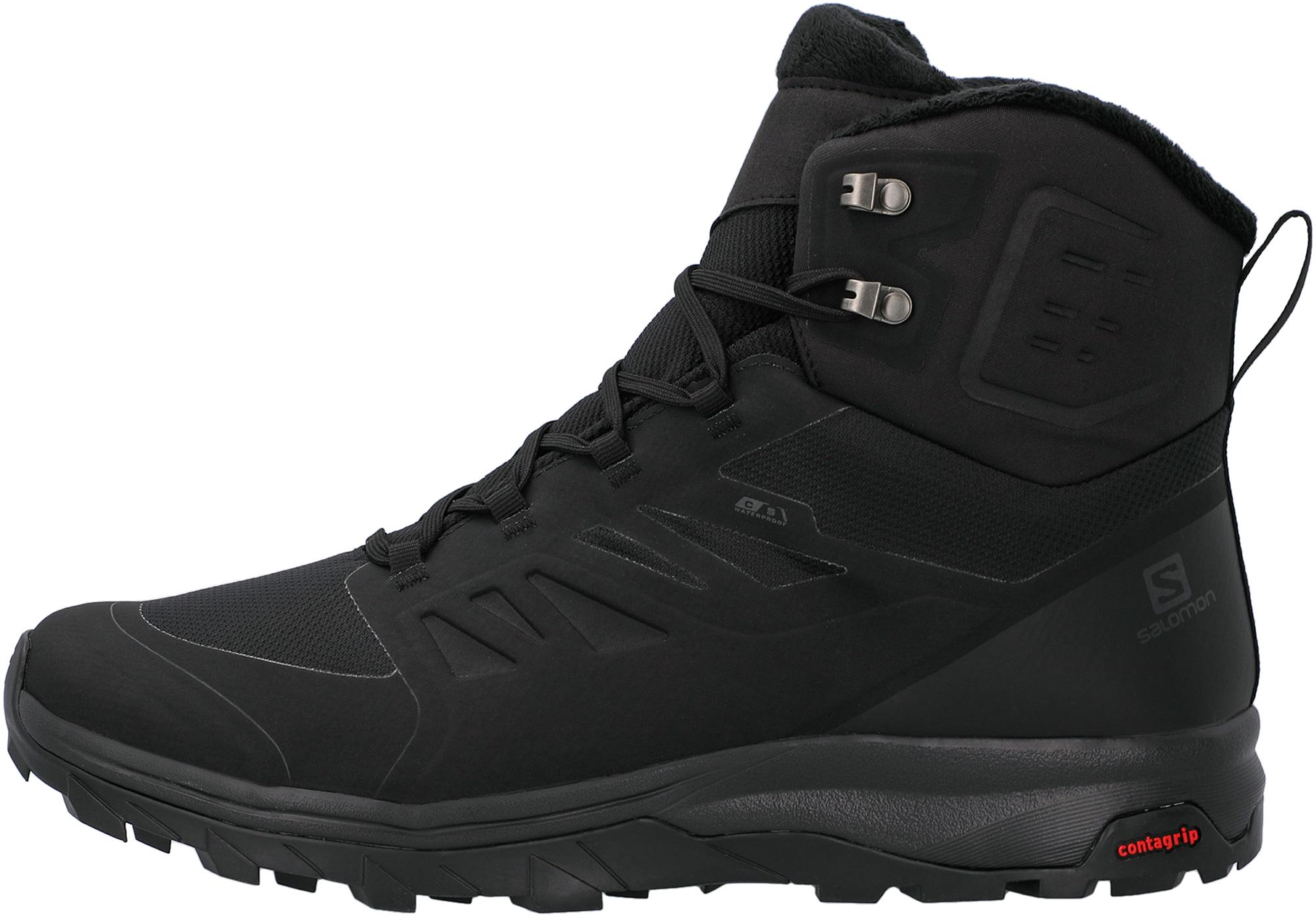 Ботинки утепленные мужские Salomon Outblast TS CSWP, размер 42
