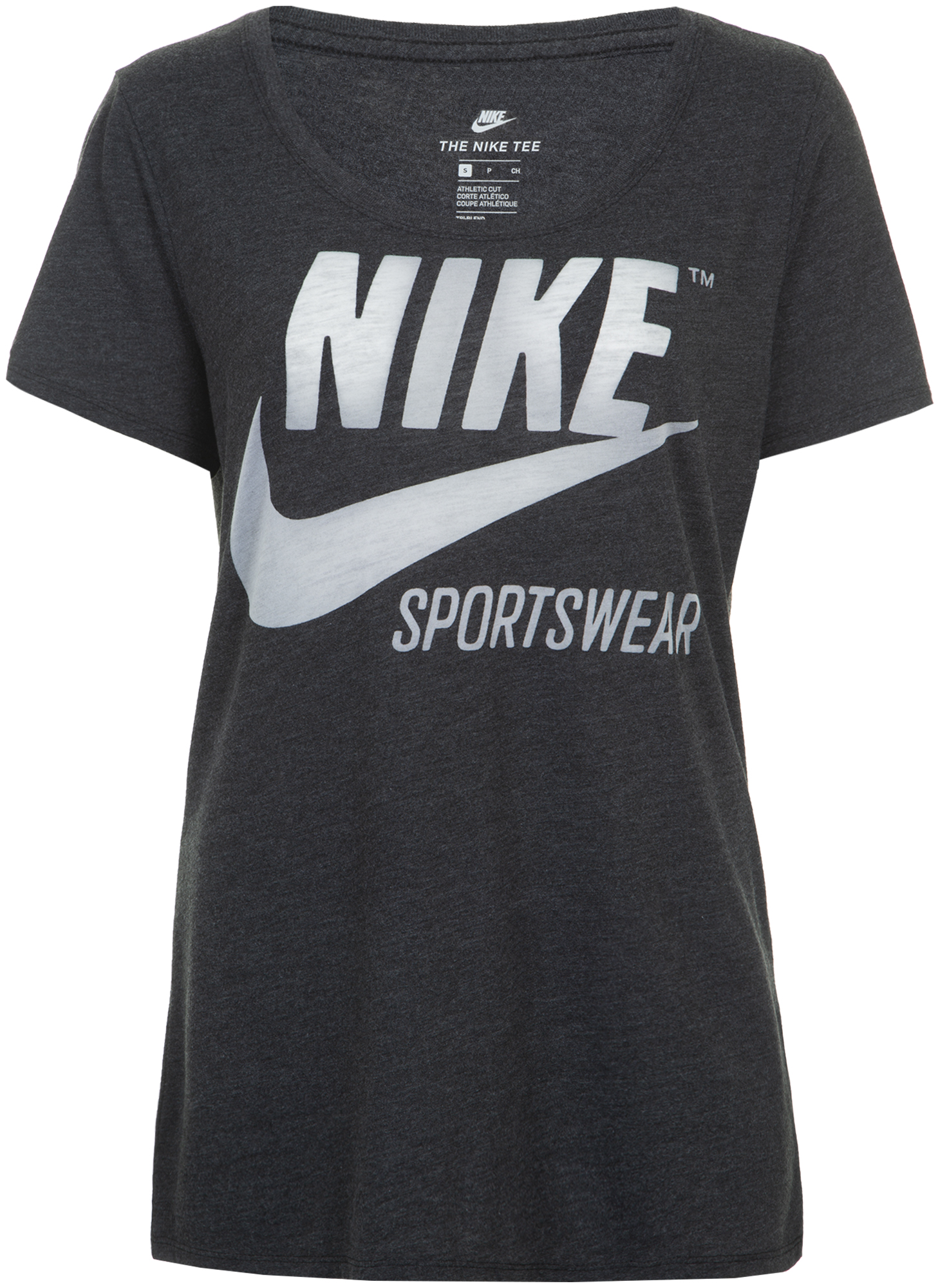 Nike Футболка женская Nike Sportswear, размер 50-52 футболка женская nike pro top цвет белый 889540 100 размер s 42 44