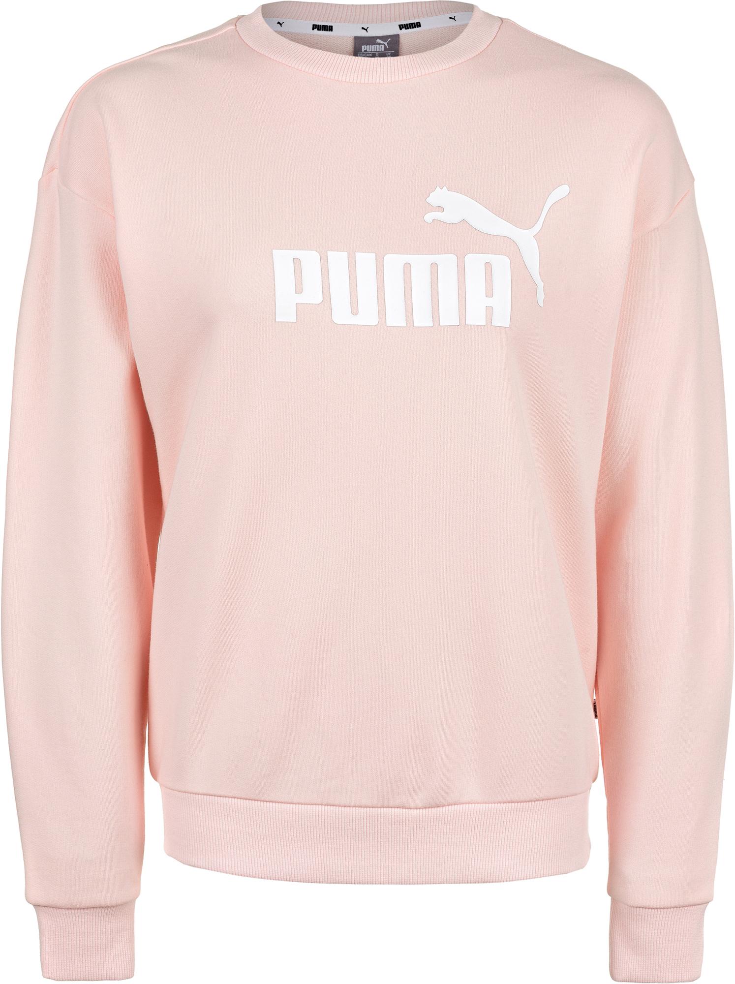 Фото - Puma Свитшот женский Puma ESS Logo Crew, размер 42-44 ess no 1 crew sweat tr w