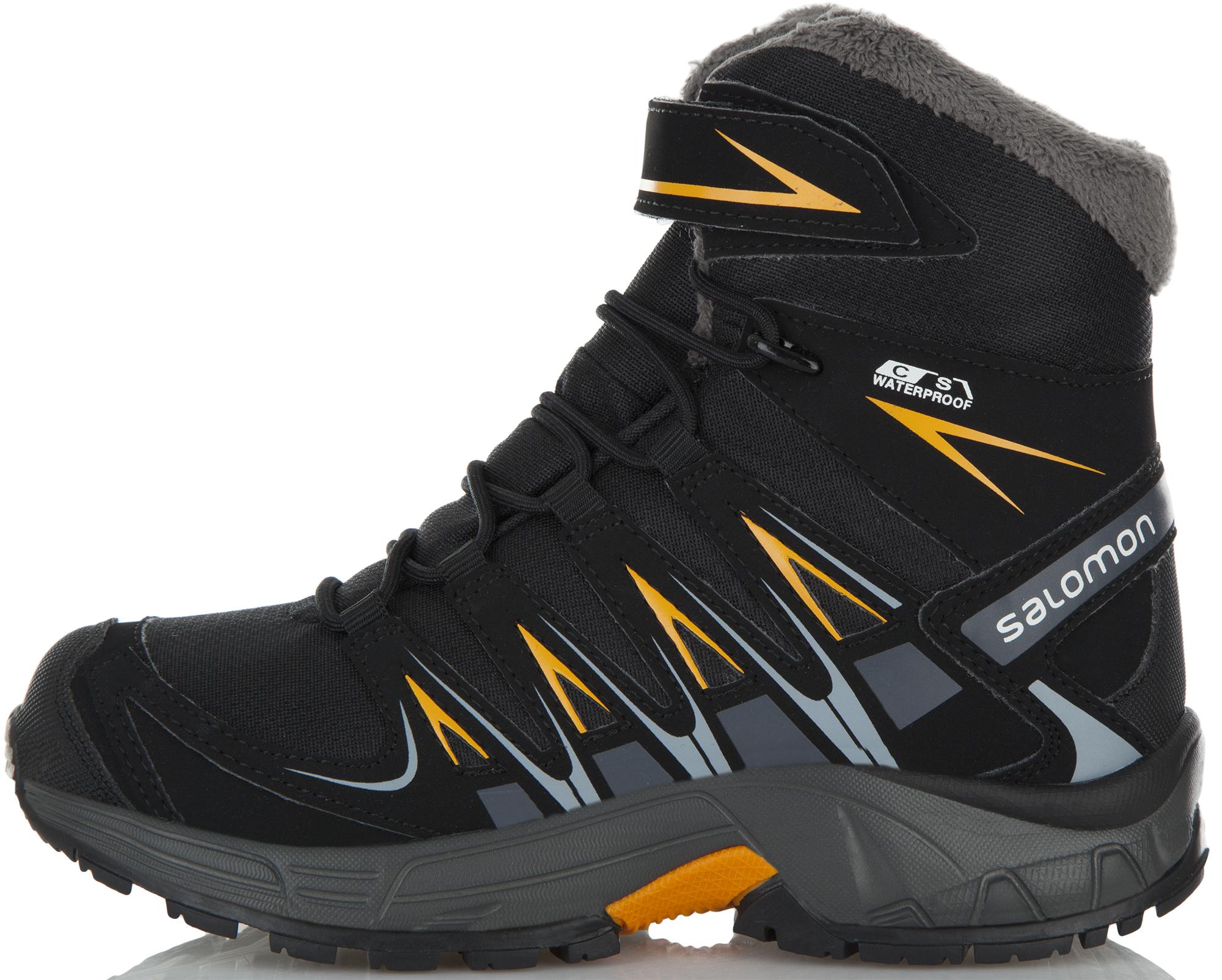 где купить Ботинки Salomon Сапоги утепленные для мальчиков Salomon Xa Pro 3D Winter, размер 36 по лучшей цене