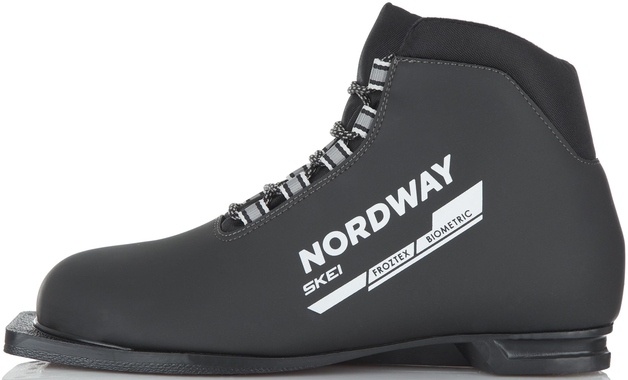 Nordway Ботинки для беговых лыж Nordway Skei палки для беговых лыж женские nordway vega