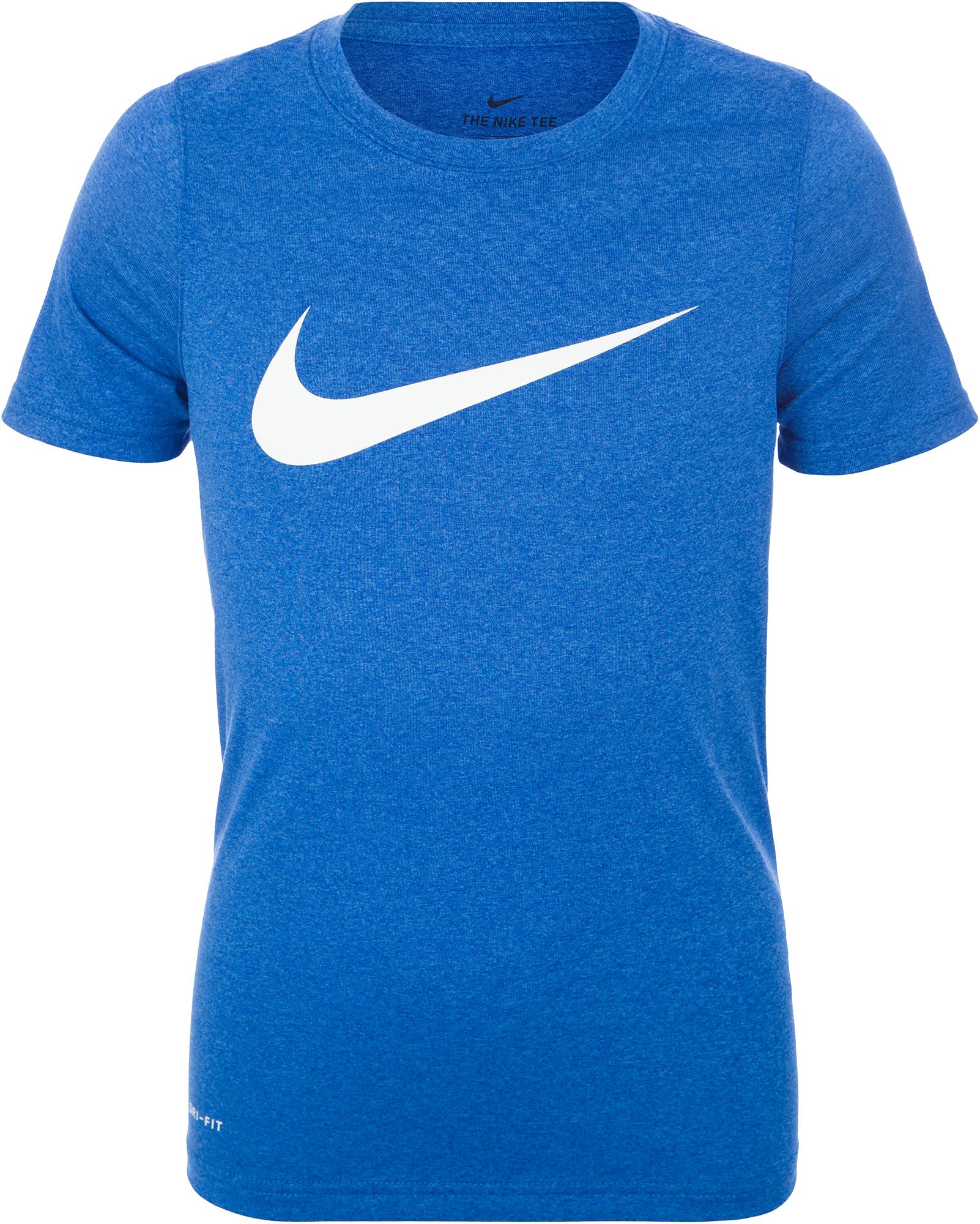 Nike Футболка для мальчиков Nike Dri-FIT, размер 137-147 цена