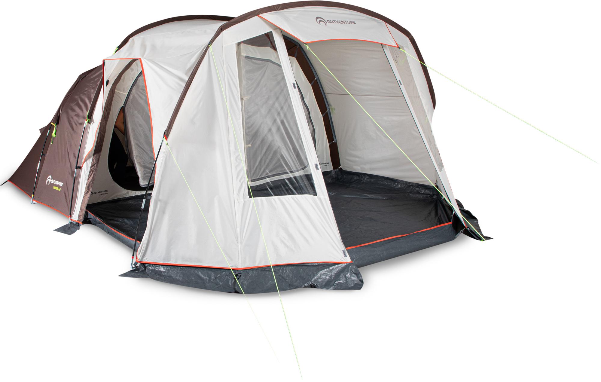 Outventure Палатка 5-местная Outventure Camper 3+2 палатка alexika rondo 2 plus