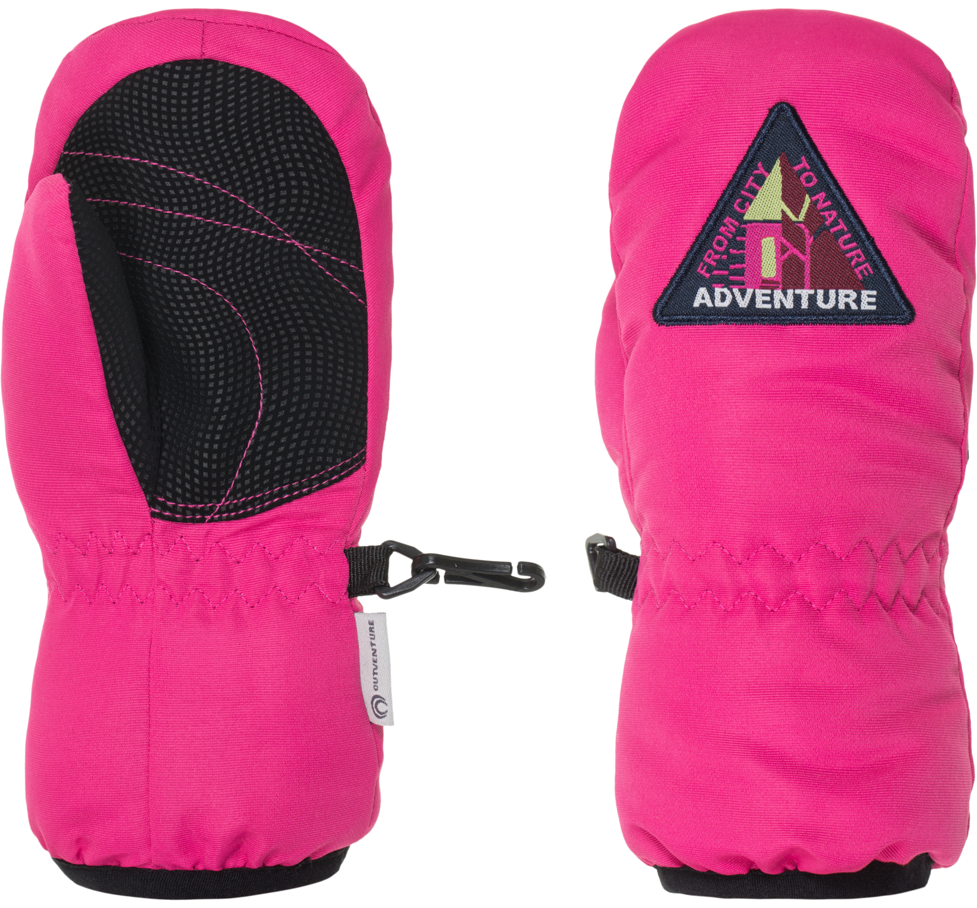 Outventure Варежки для девочек Outventure, размер 6
