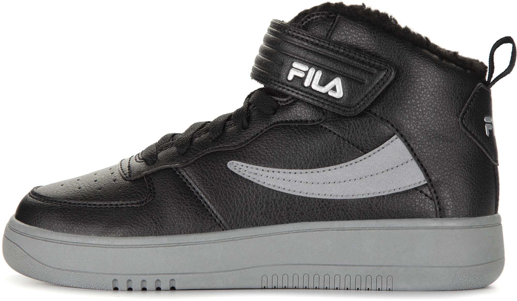 Fila Кеды высокие утепленные для мальчиков Fil Fur, размер 39