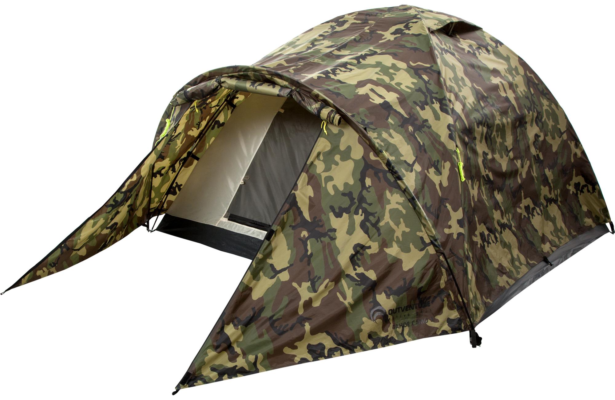 Outventure Палатка 3-местная Outventure TAHOE 3 CAMO палатка normal виктория 3