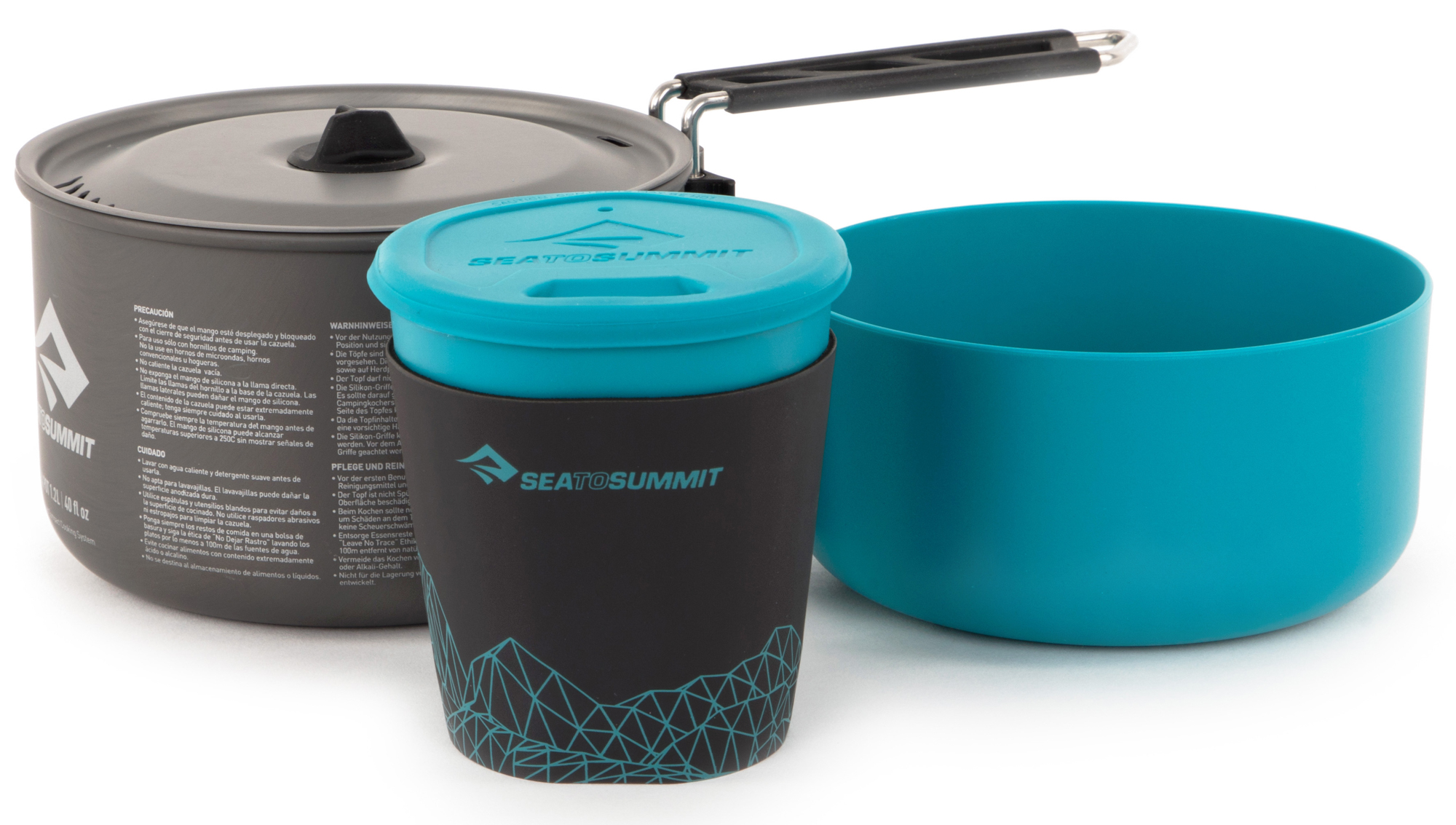 SEA TO SUMMIT Набор посуды SEA TO SUMMIT Alpha 2 Pot Cook Set 1.1 комплектующие для спортивных сумок sea to summit 56928afrb25spp 2015 afrb25srpp