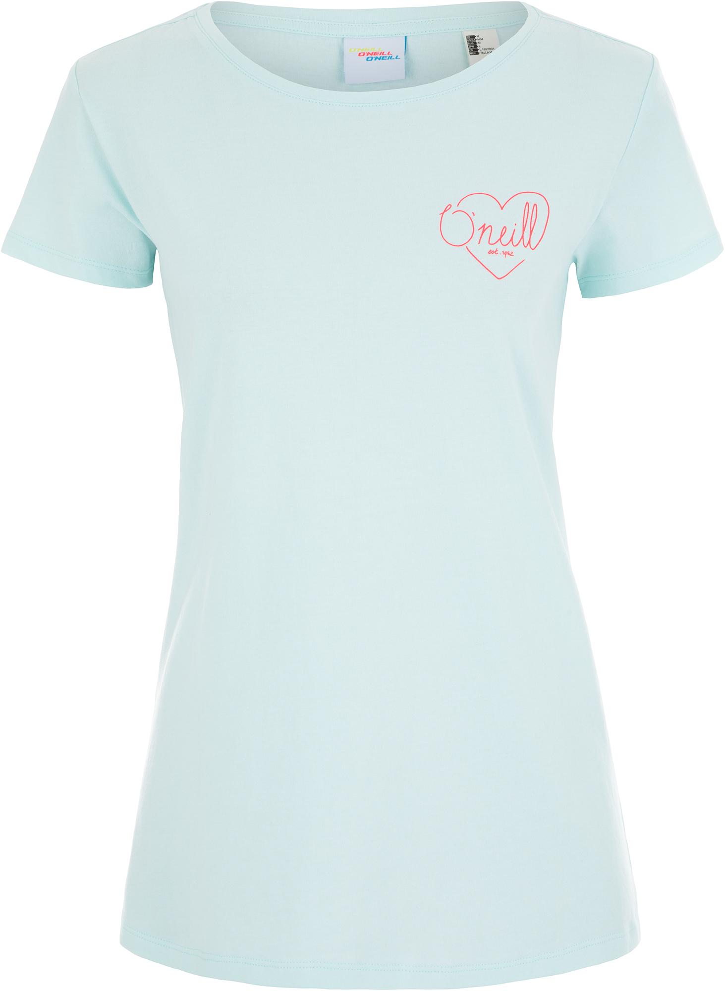 O'Neill Футболка женская O'Neill Lw Flower, размер 50-52 футболка женская o neill lw brooklyn banks t shirt цвет светло серый 9a7310 8101 размер m 46 48