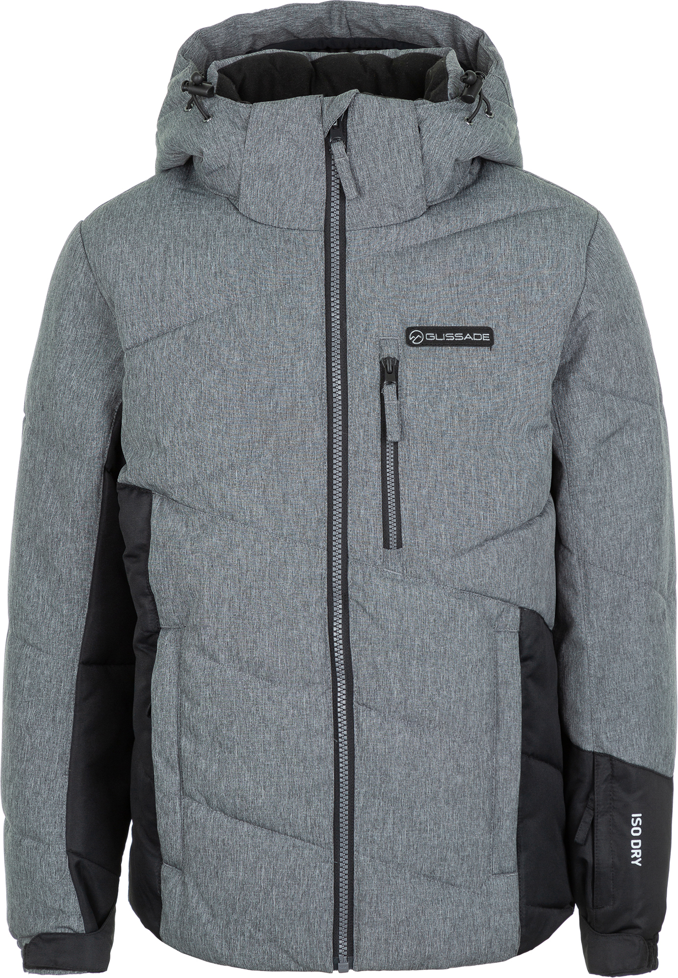 Glissade Куртка утепленная для мальчиков Glissade, размер 170 куртка для мальчика acoola brandon цвет темно серый 20110130145 2000 размер 170
