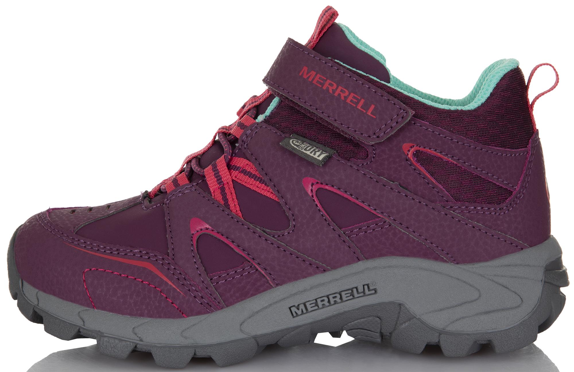 Merrell Ботинки для девочек Ml-Light Tech Ltr Quick Close, размер 34,5