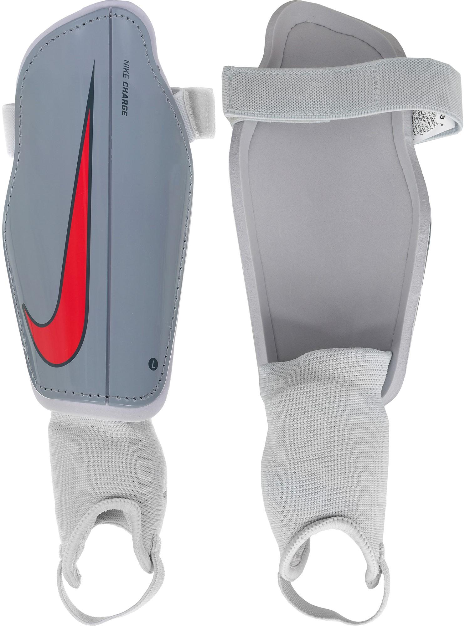 Nike Щитки футбольные детские Nike Youth Charge 2.0, размер 120-130 щитки футбольные mitre tungsten slip