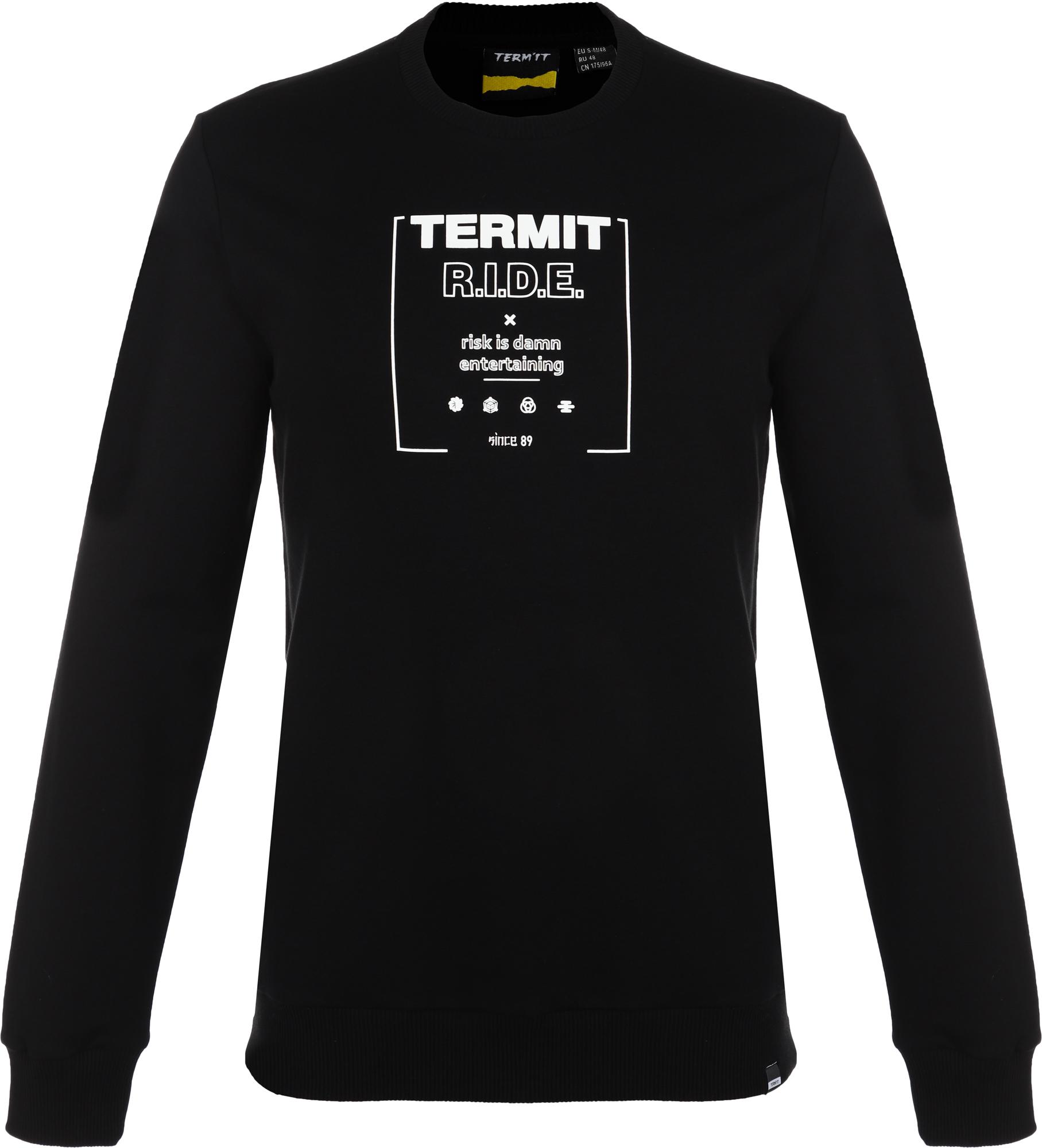Фото - Termit Свитшот мужской Termit, размер 46 termit лонгслив мужской termit размер 52