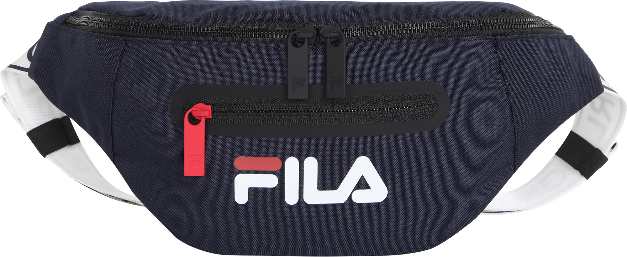 сумка спортивная fila coated bag s19aflacu01 m1 синий FILA Сумка на пояс FILA