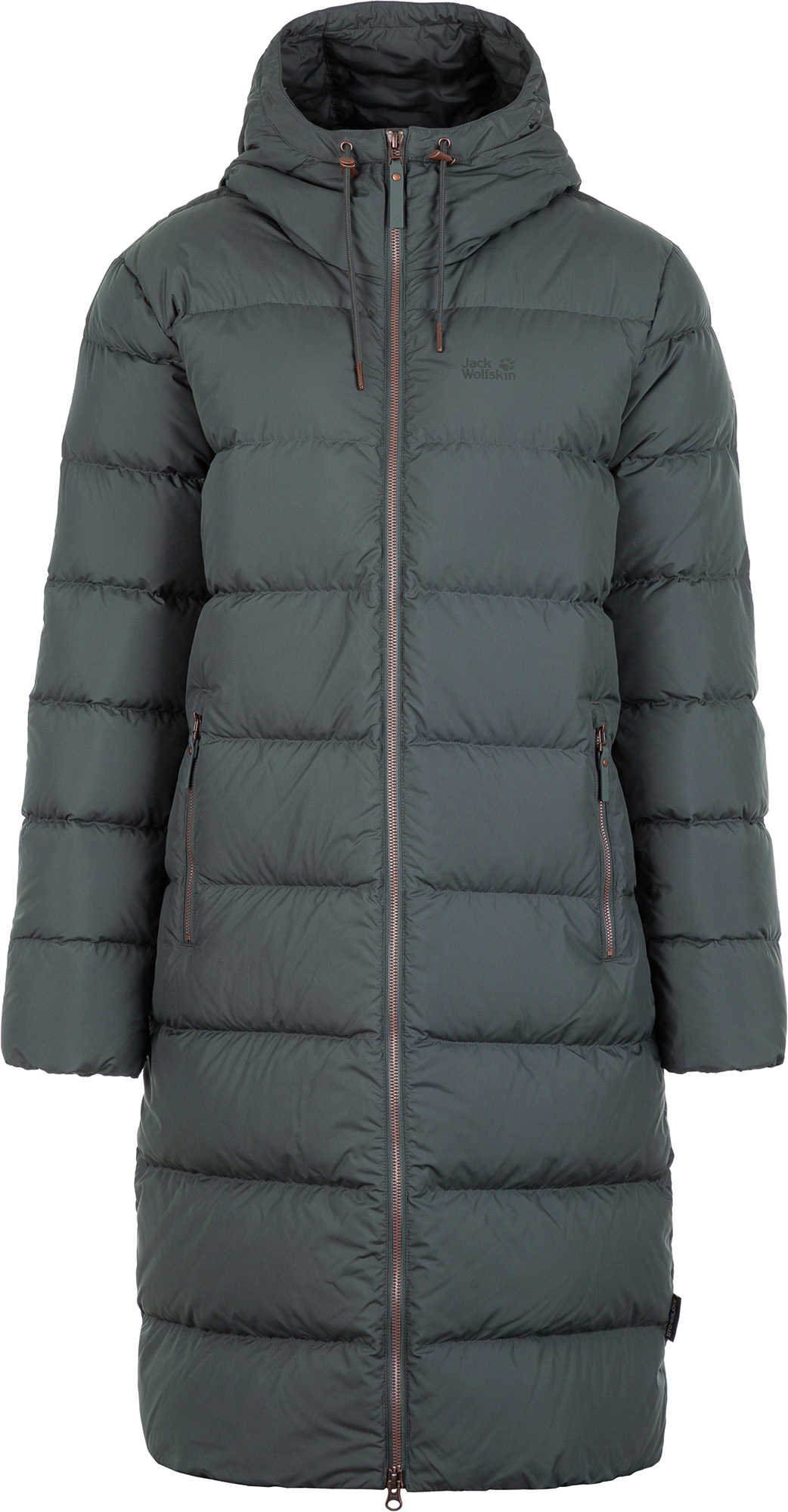 Jack Wolfskin Куртка пуховая женская Jack Wolfskin Crystal Palace, размер 42