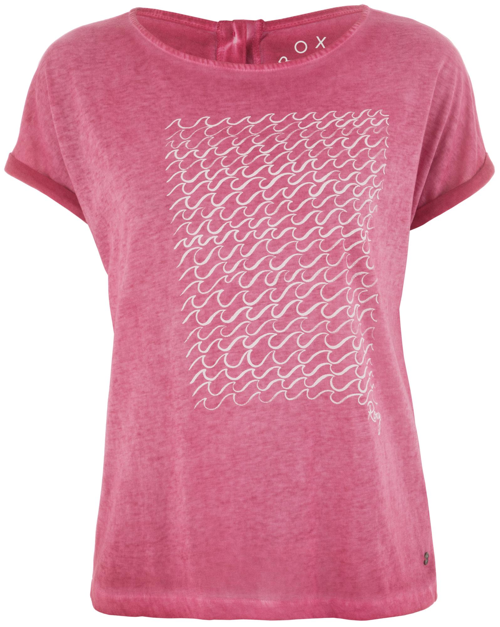 Roxy Футболка женская Roxy Summertime Happiness, размер 48-50 футболка детская roxy seeyouagainanch dress blues