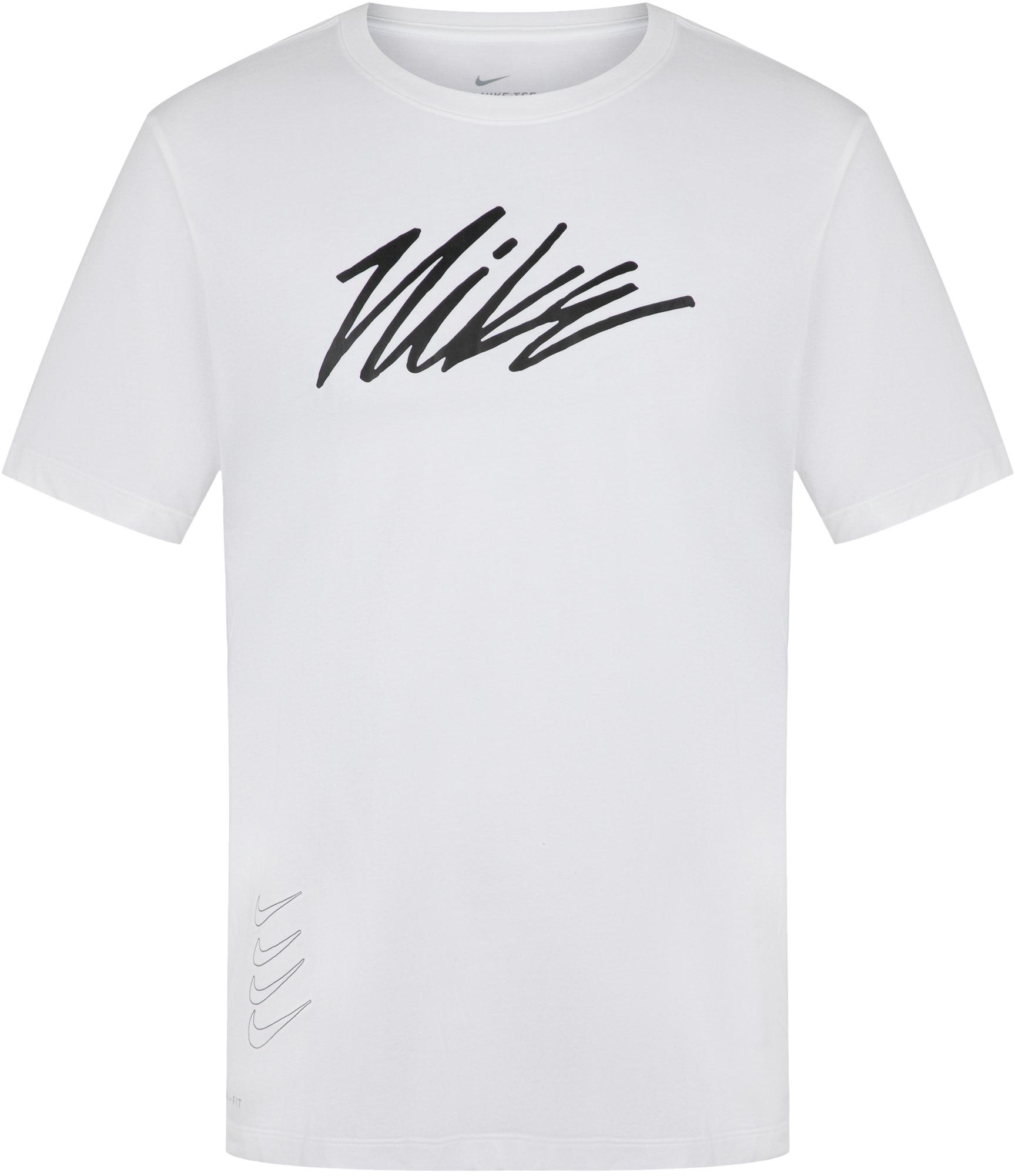 Nike Футболка мужская Nike Dri-Fit, размер 52-54 все цены