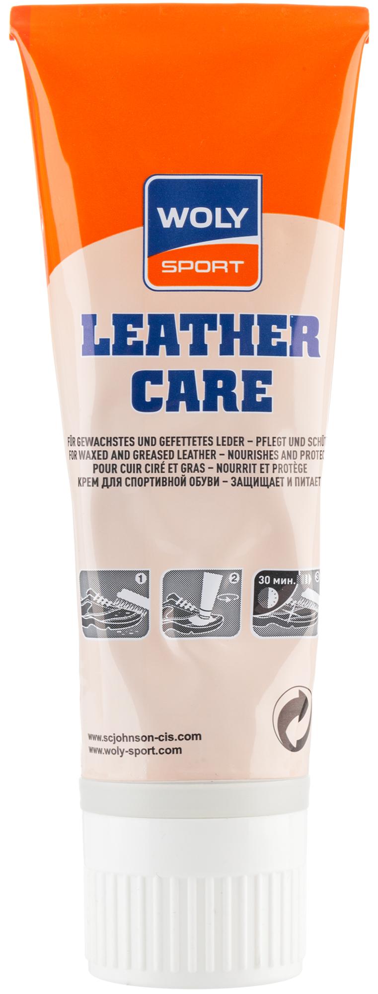 Woly Крем для ухода за обувью из гладкой кожи Sport, черный